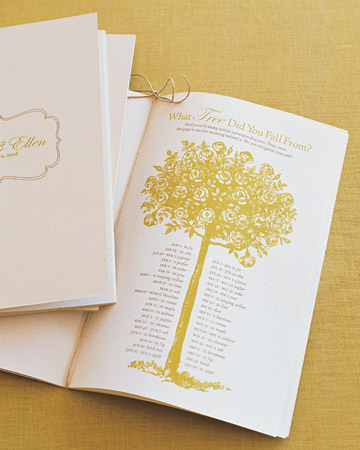 Celtic Wedding Program