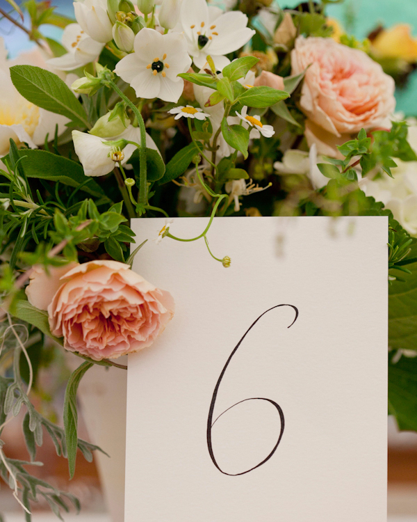 Classic Wedding Table Cards