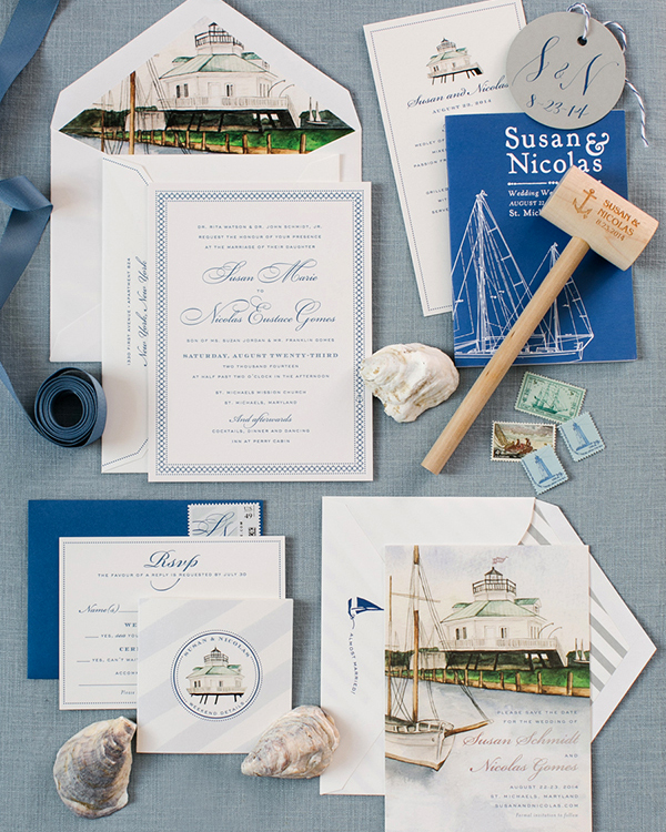 Nautical Wedding Invitations.Nautical Wedding Invitations Perfect For A Waterfront Celebration