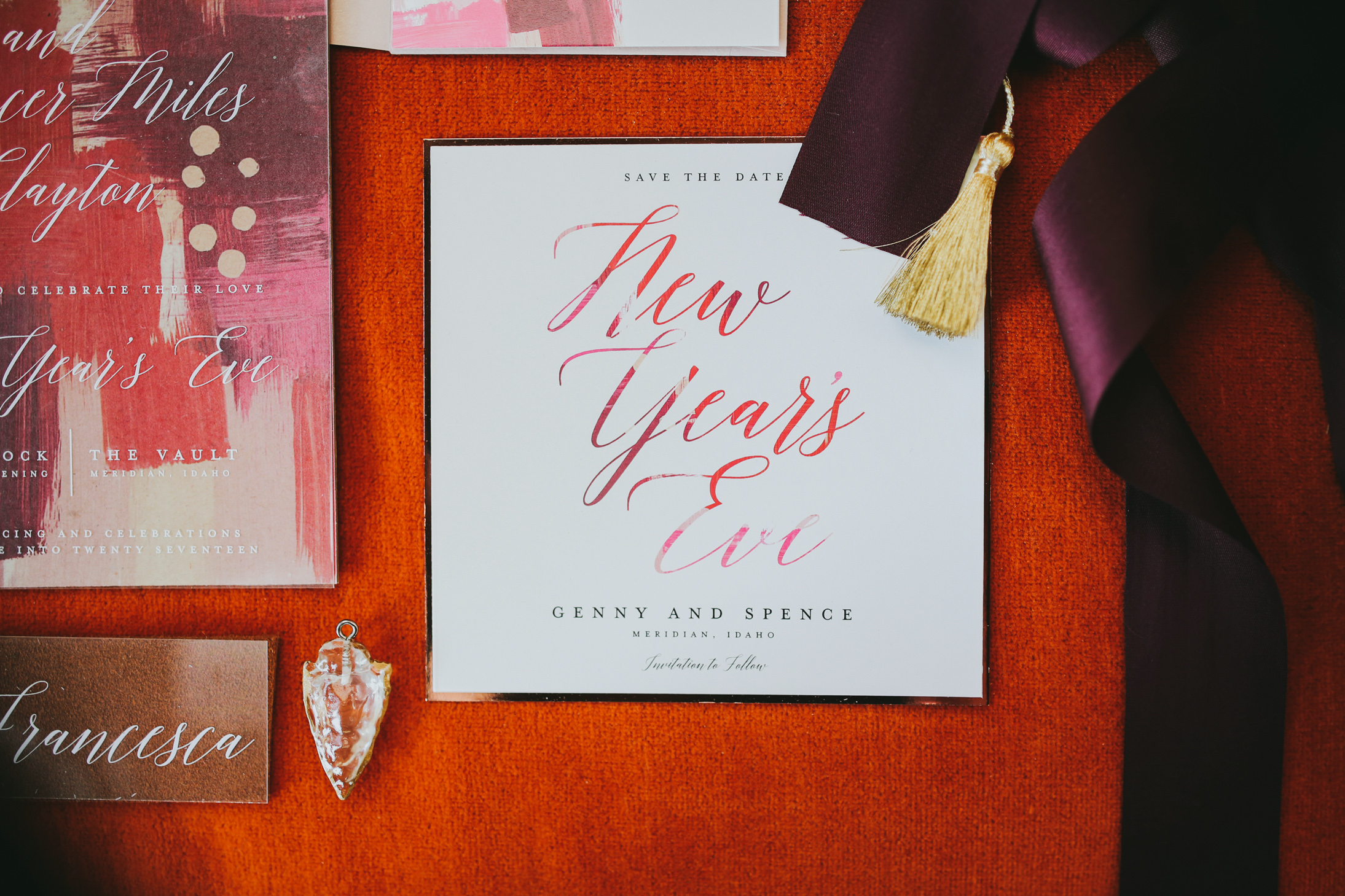 modern save the dates ella florence