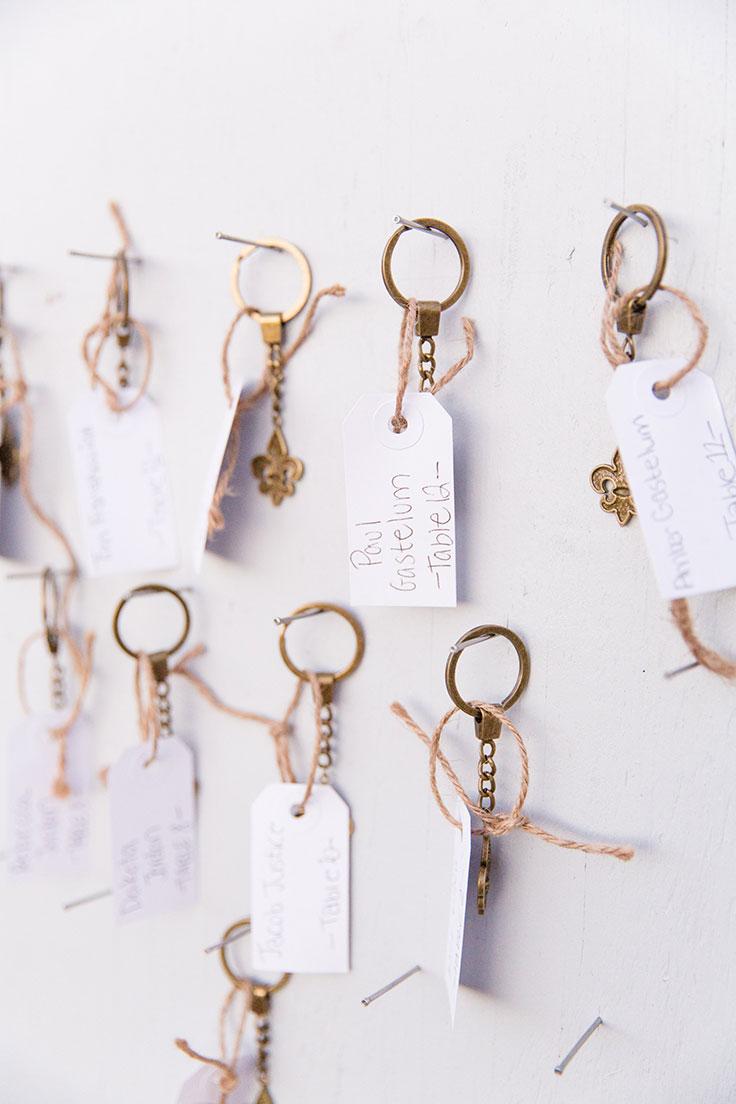 keys escort cards