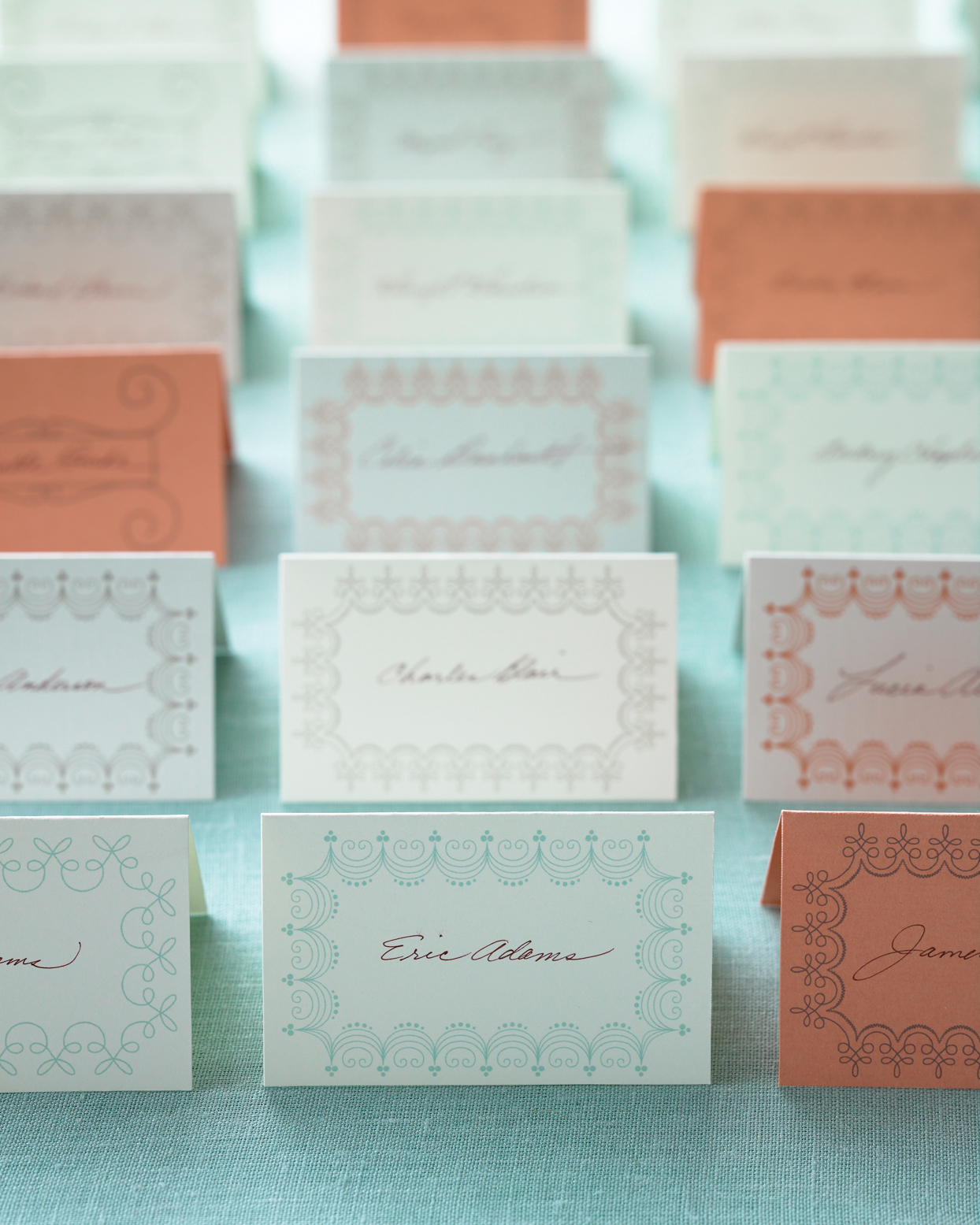 Perforated Place Card