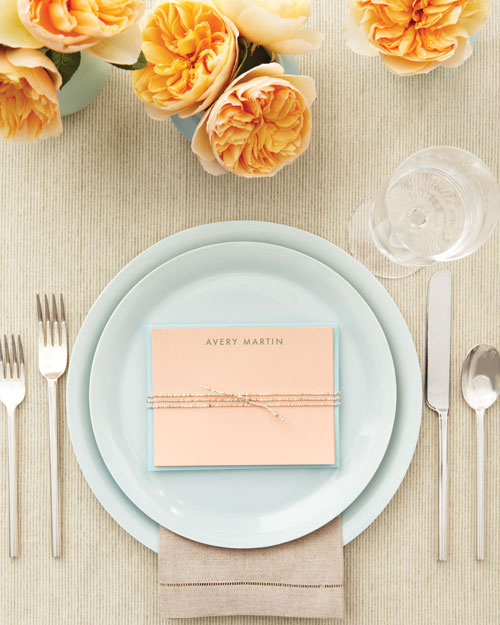 Place Card Stationery