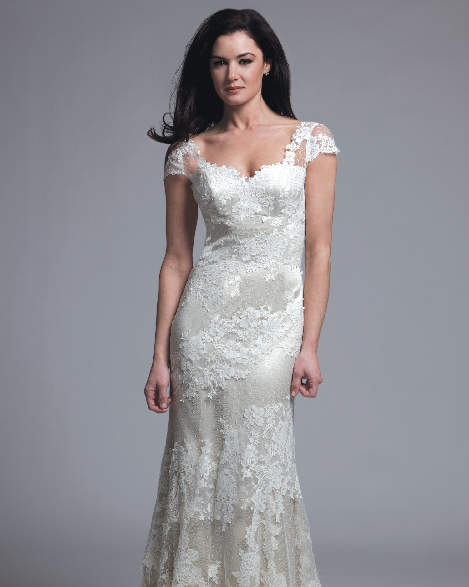 Sheath Wedding Dresses from Spring 2013 Bridal Fashion Week