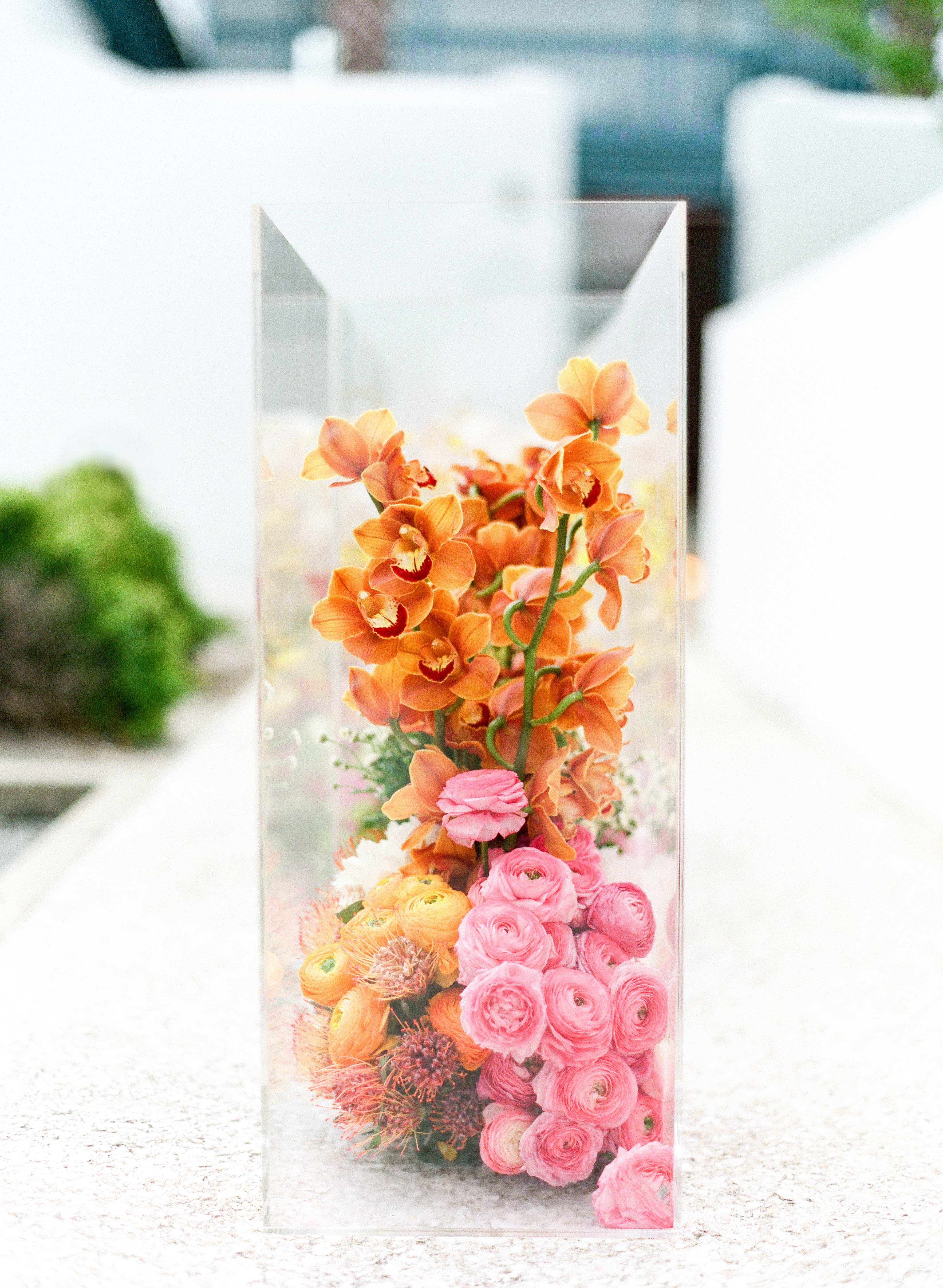 Acrylic Boxed Blooms