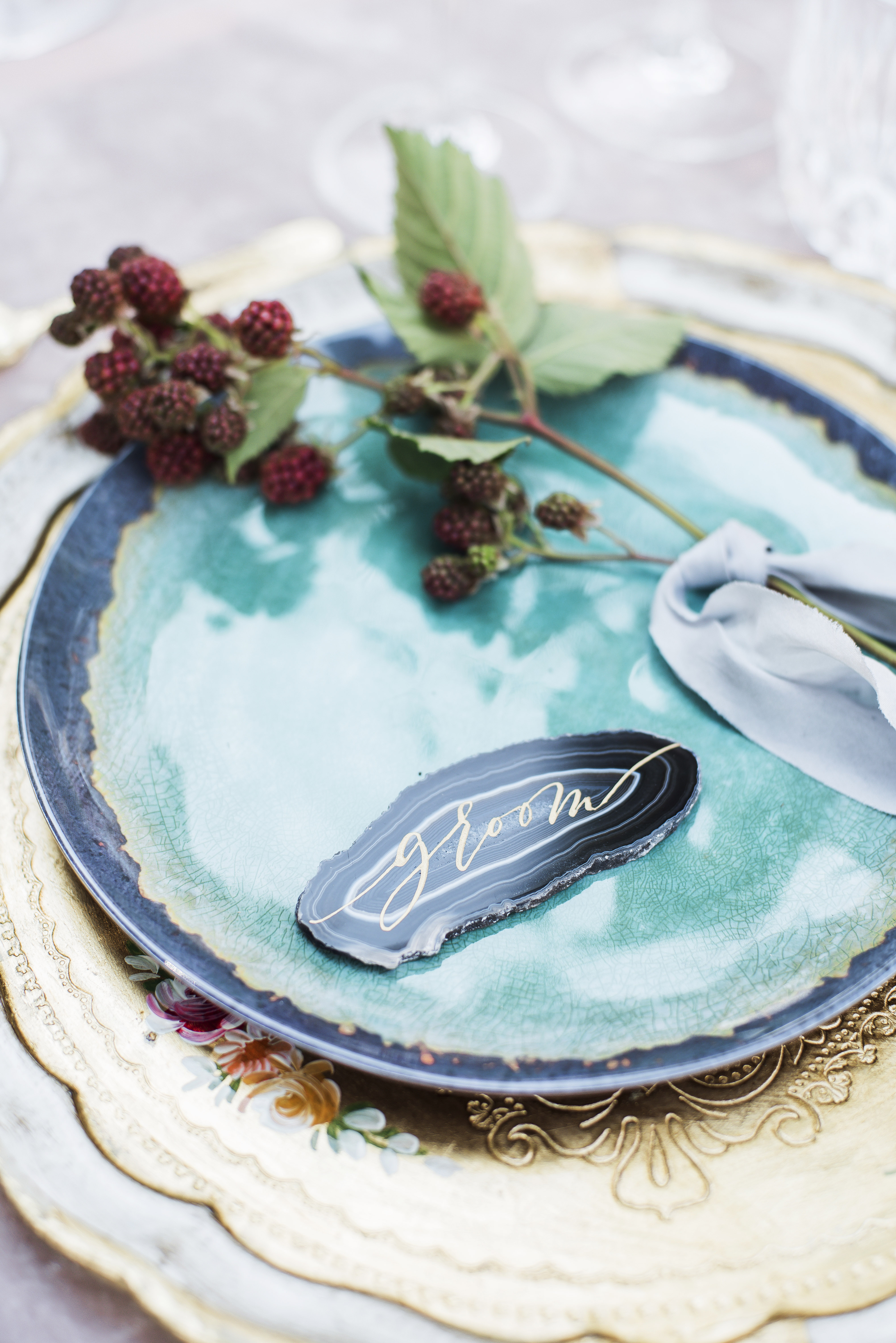 Raspberry Place Setting