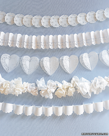 Lace Wedding Garlands