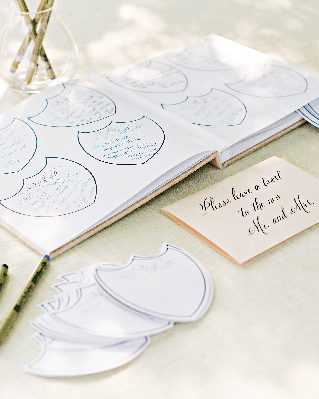 stephanie philip wedding maryland guest book