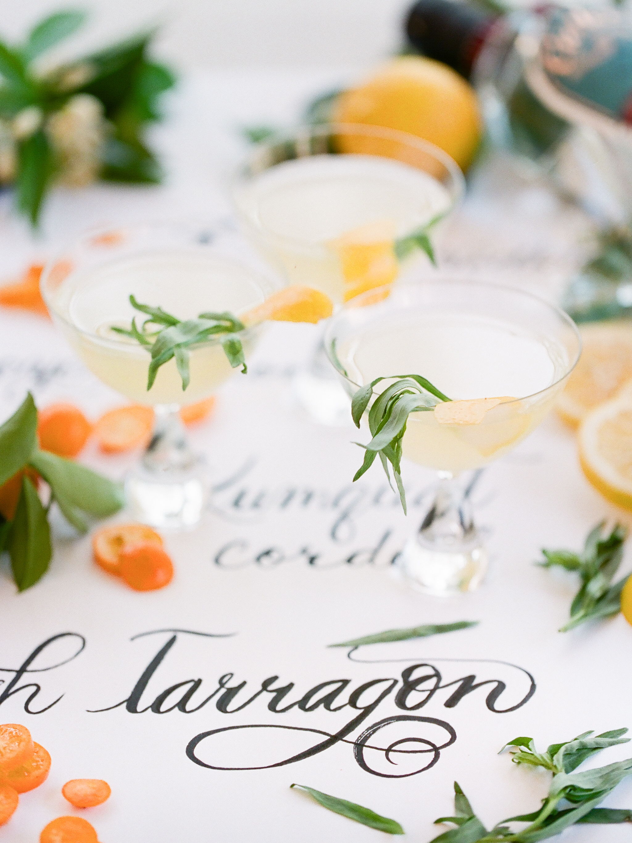 citrus-infused signature drinks