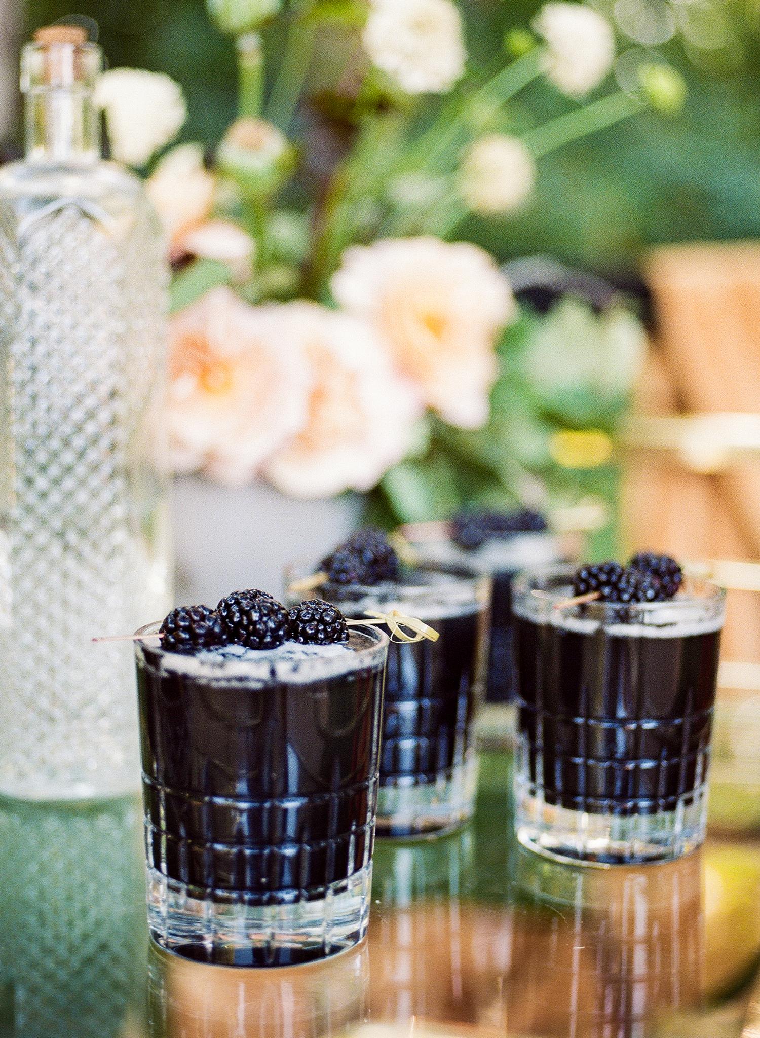 blackberry signature drinks