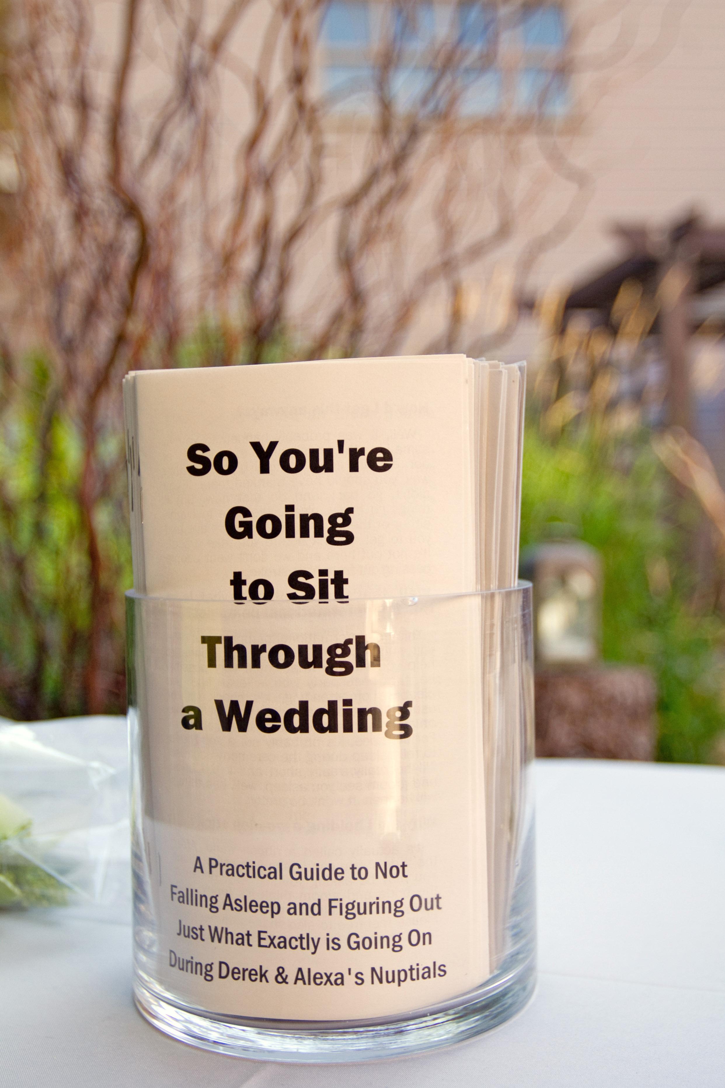 wedding games funny programs