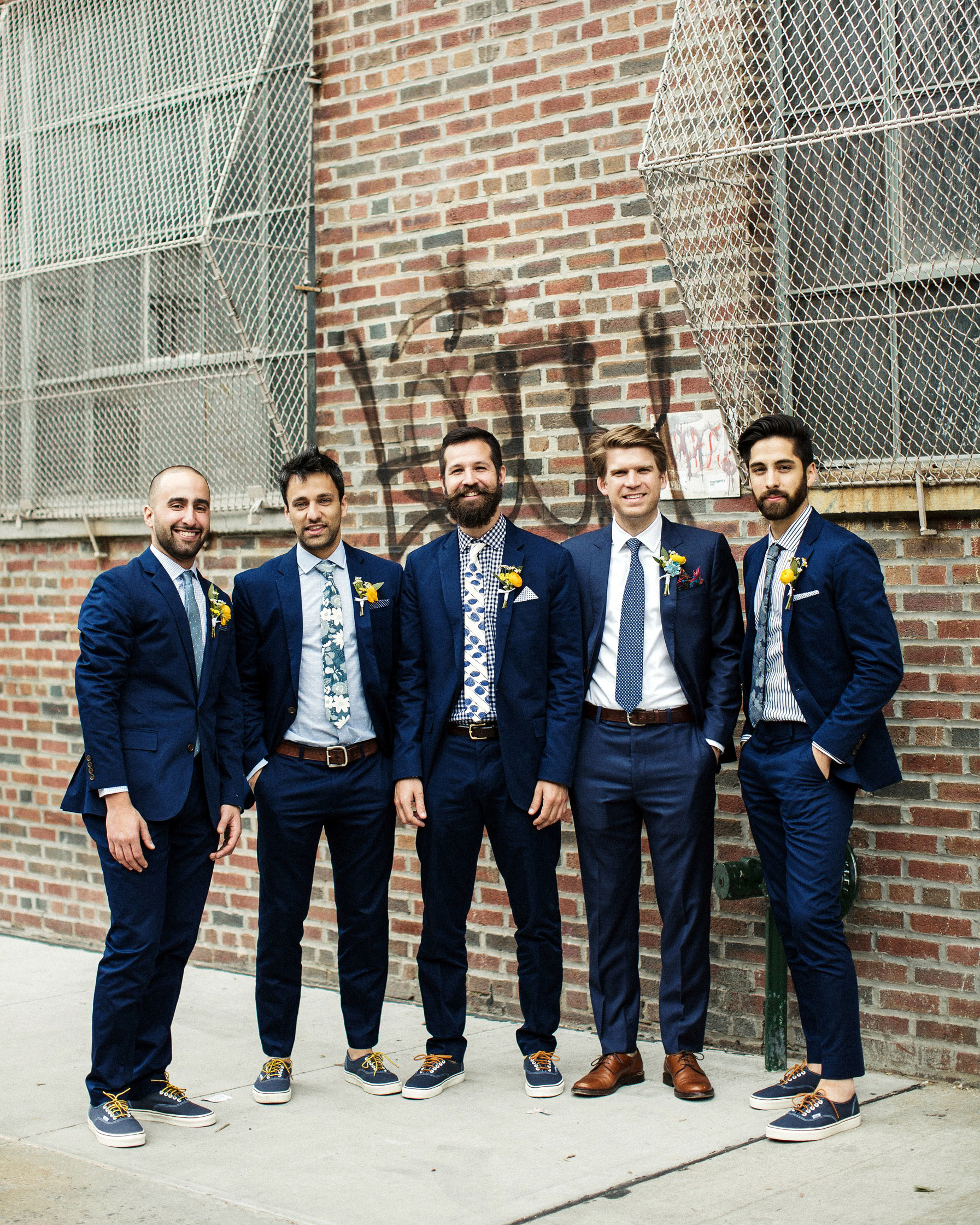 alissa mark wedding groomsmen