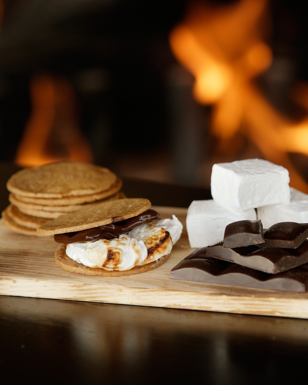S'mores-Making Table