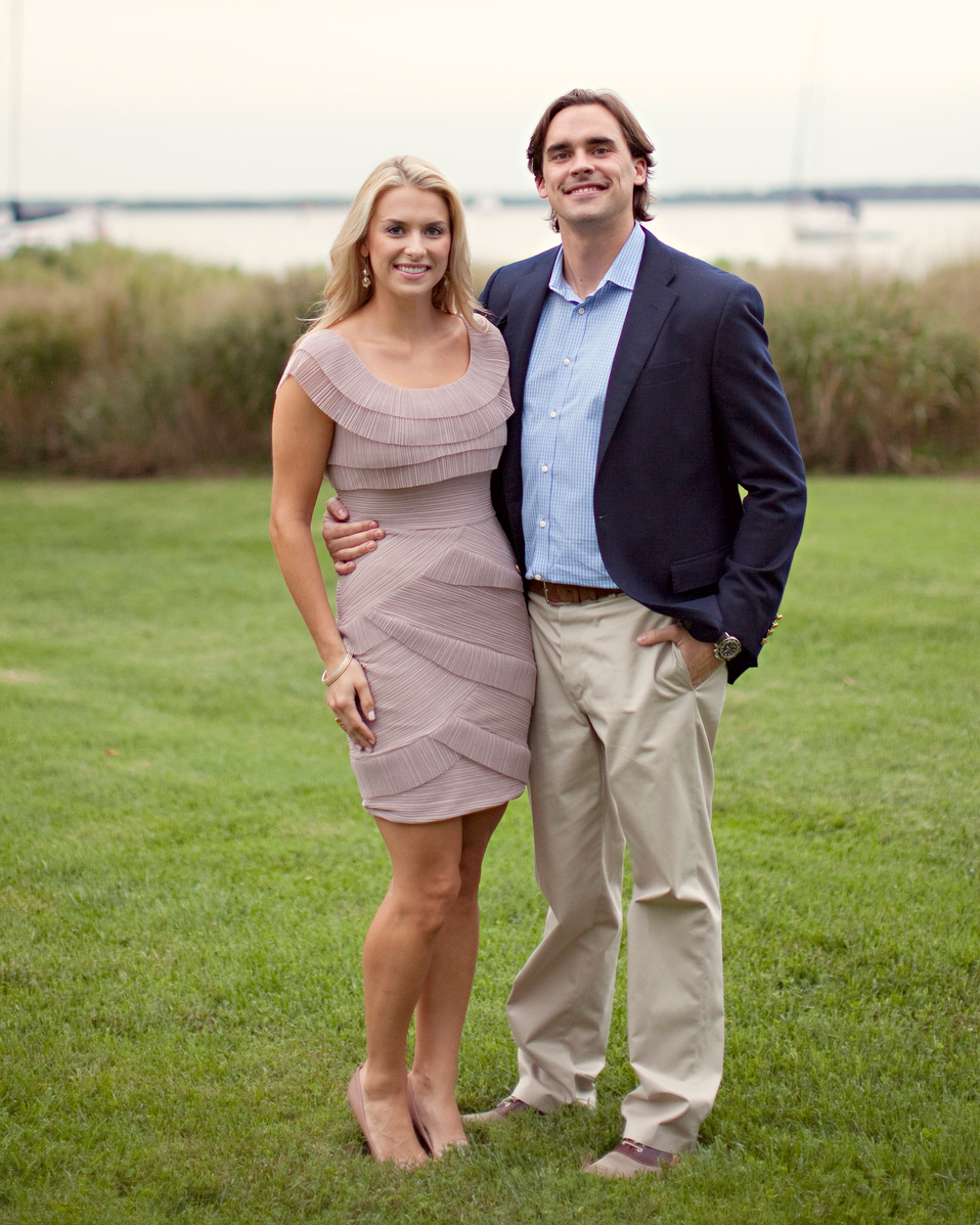 Annie and Taylor's Relaxed Rehearsal Dinner on the Chesapeake Bay
