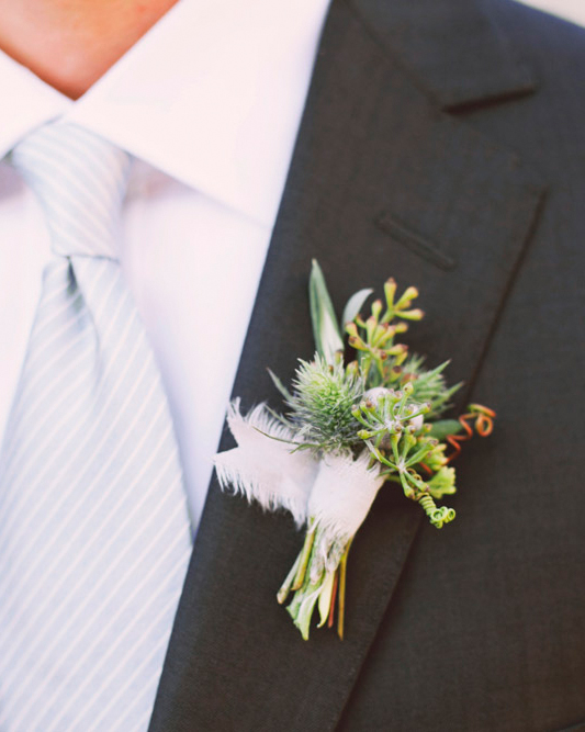 A Bountiful Boutonniere