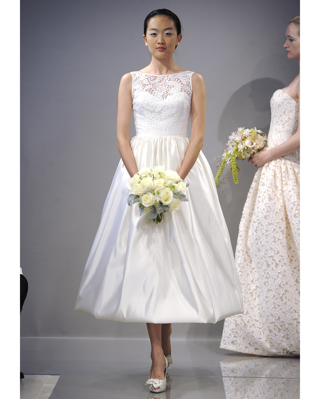 Tea-Length Wedding Dresses, Fall 2013