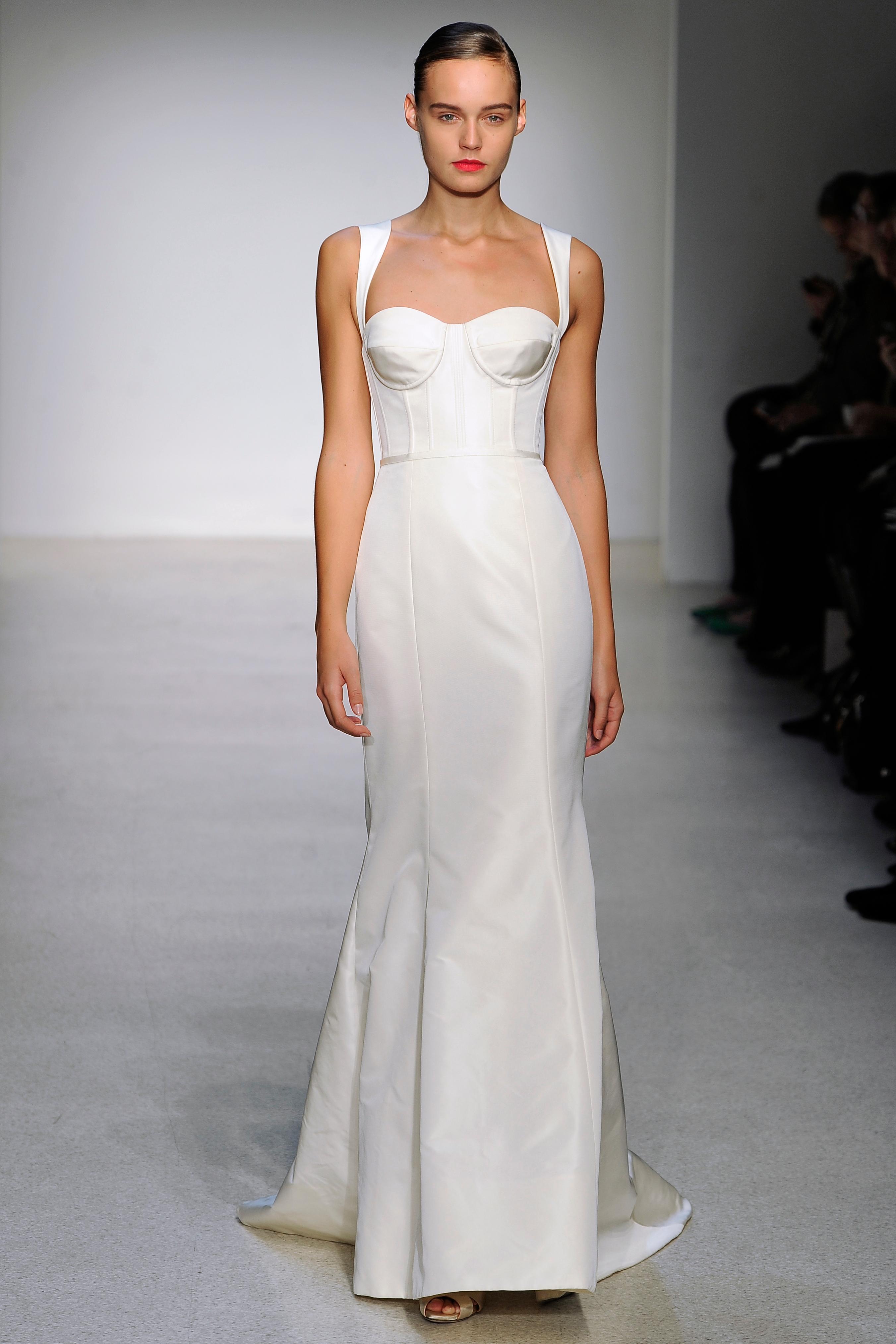 Trumpet Wedding Dresses, Fall 2013