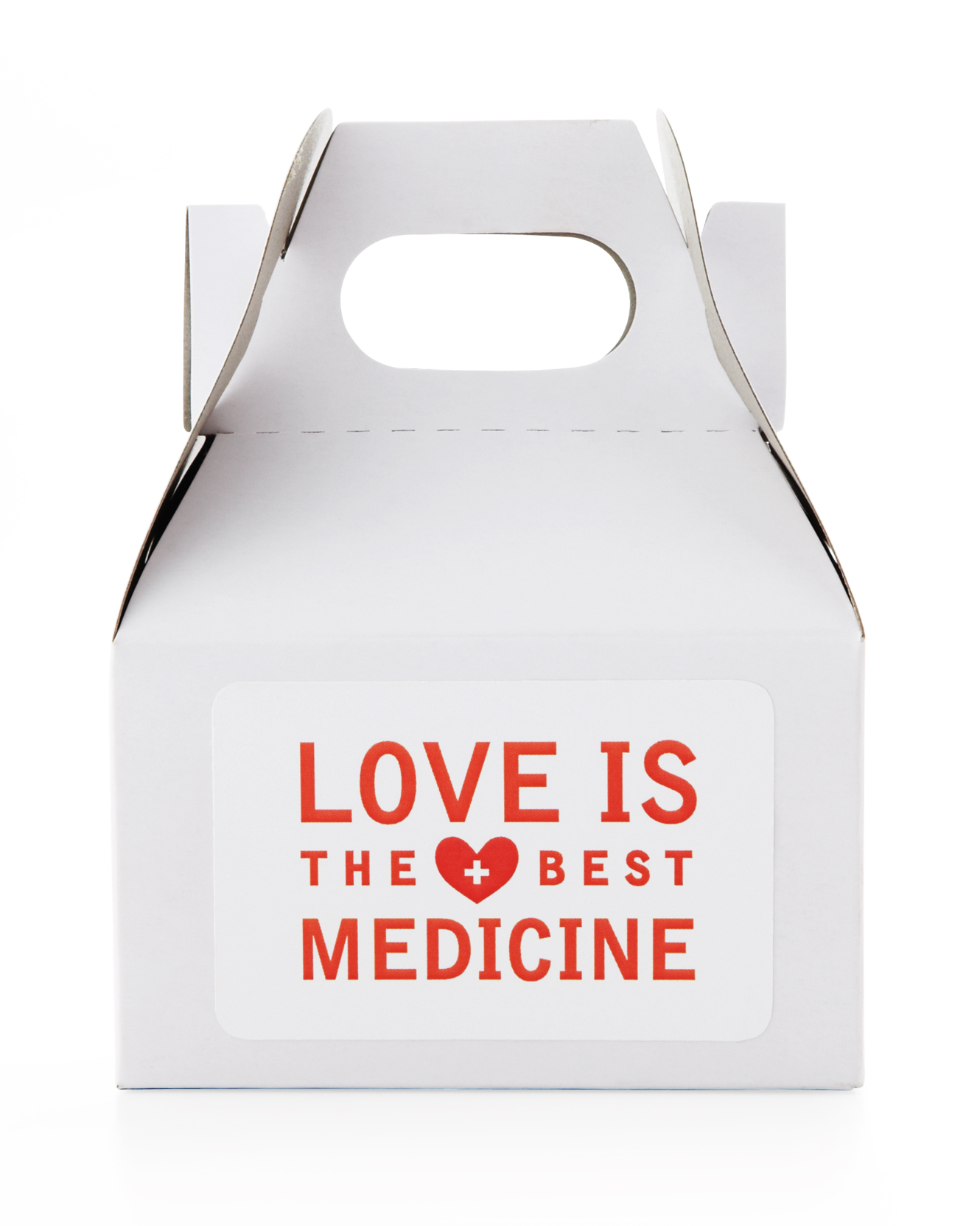 Love is the Best Medicine  Favor Label Clip Art