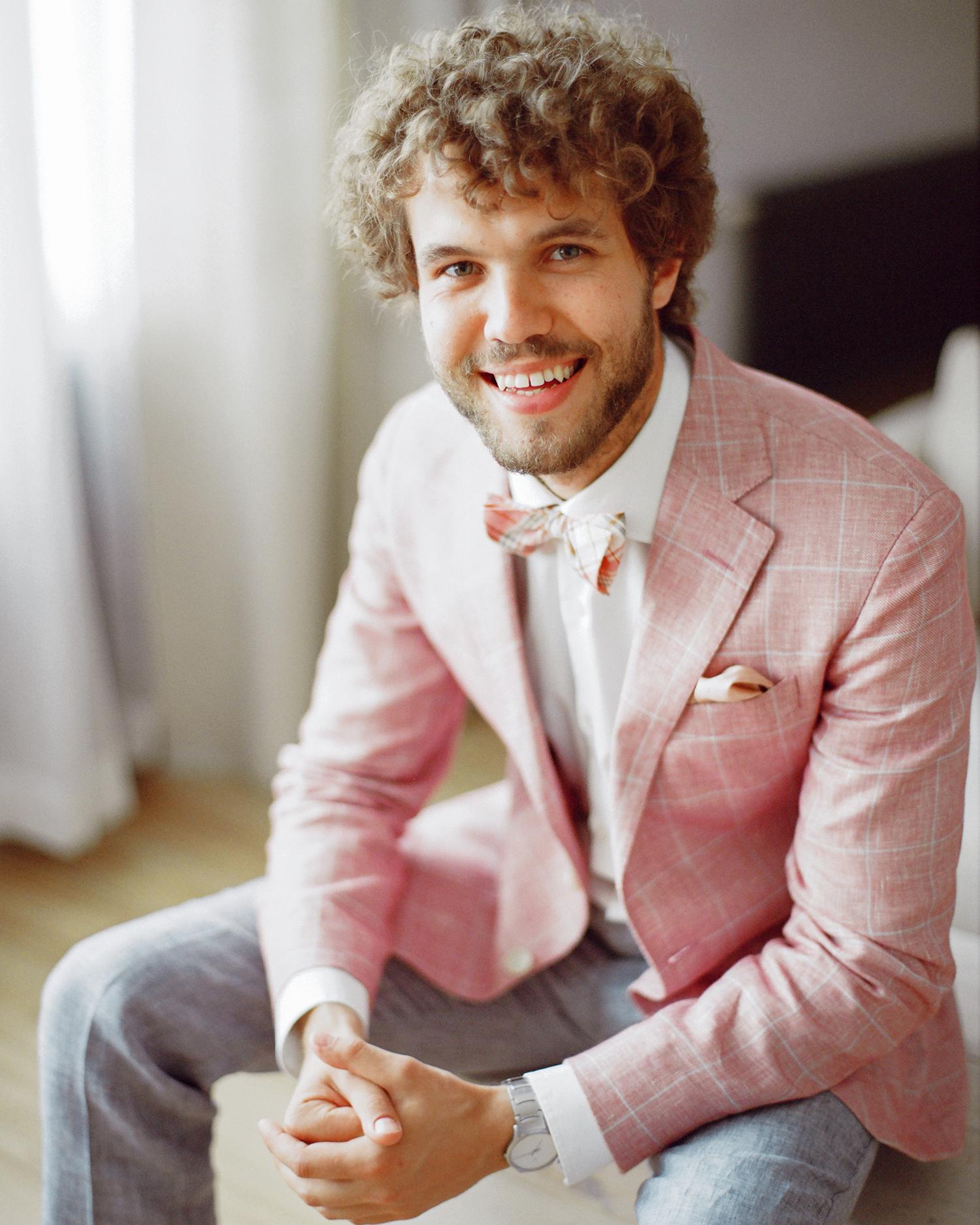 pink wedding ideas ksenia milushkina