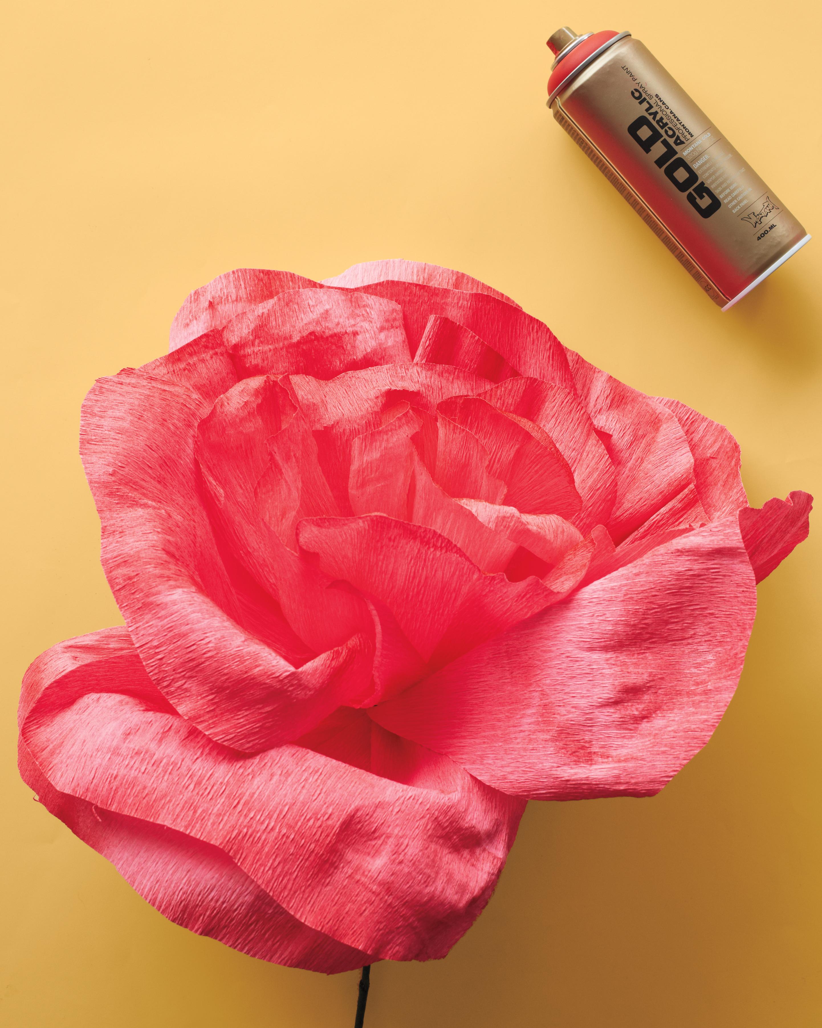 Diy Crepe Paper Flower Martha Stewart Weddings