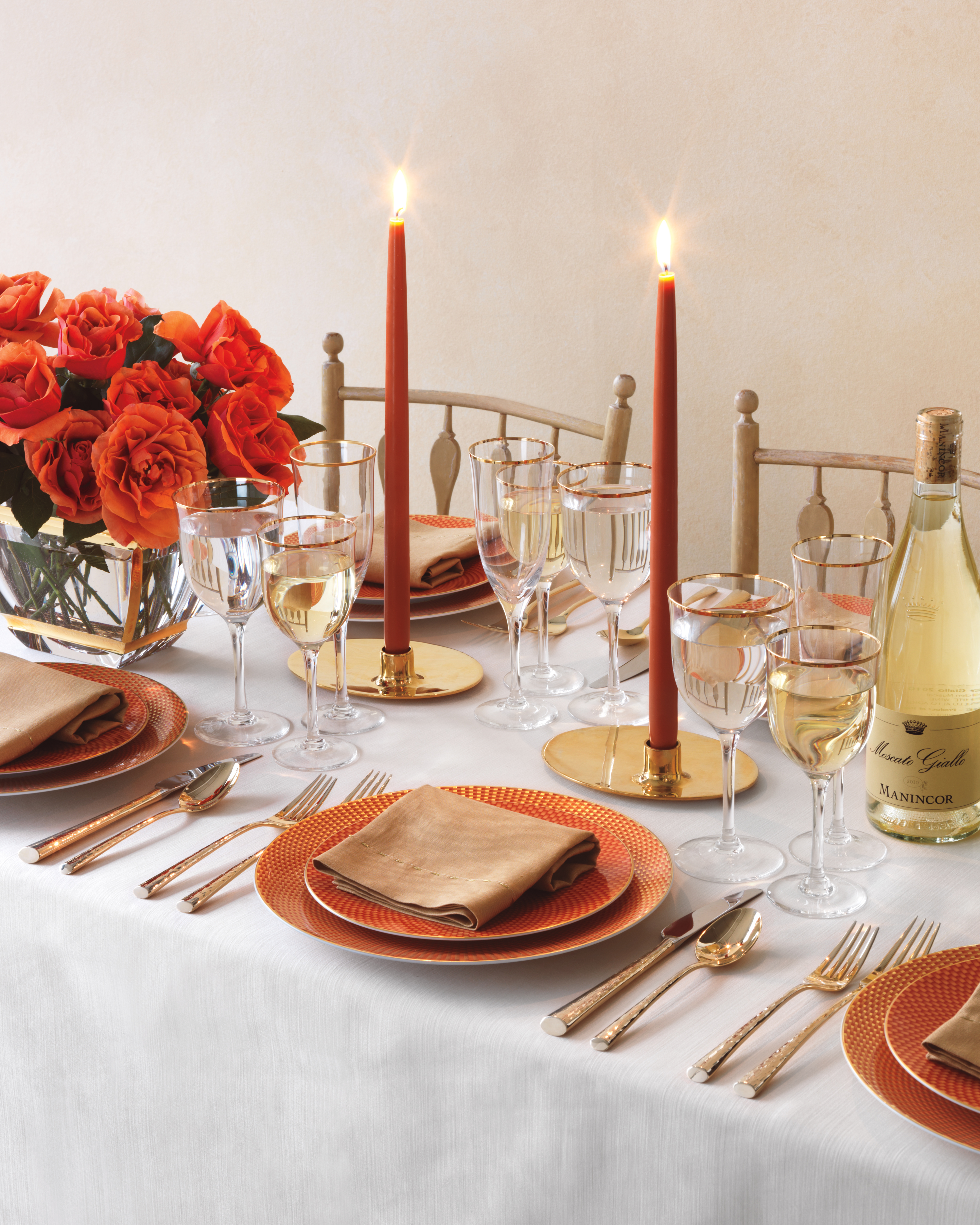 Warm and Cozy Table Settings