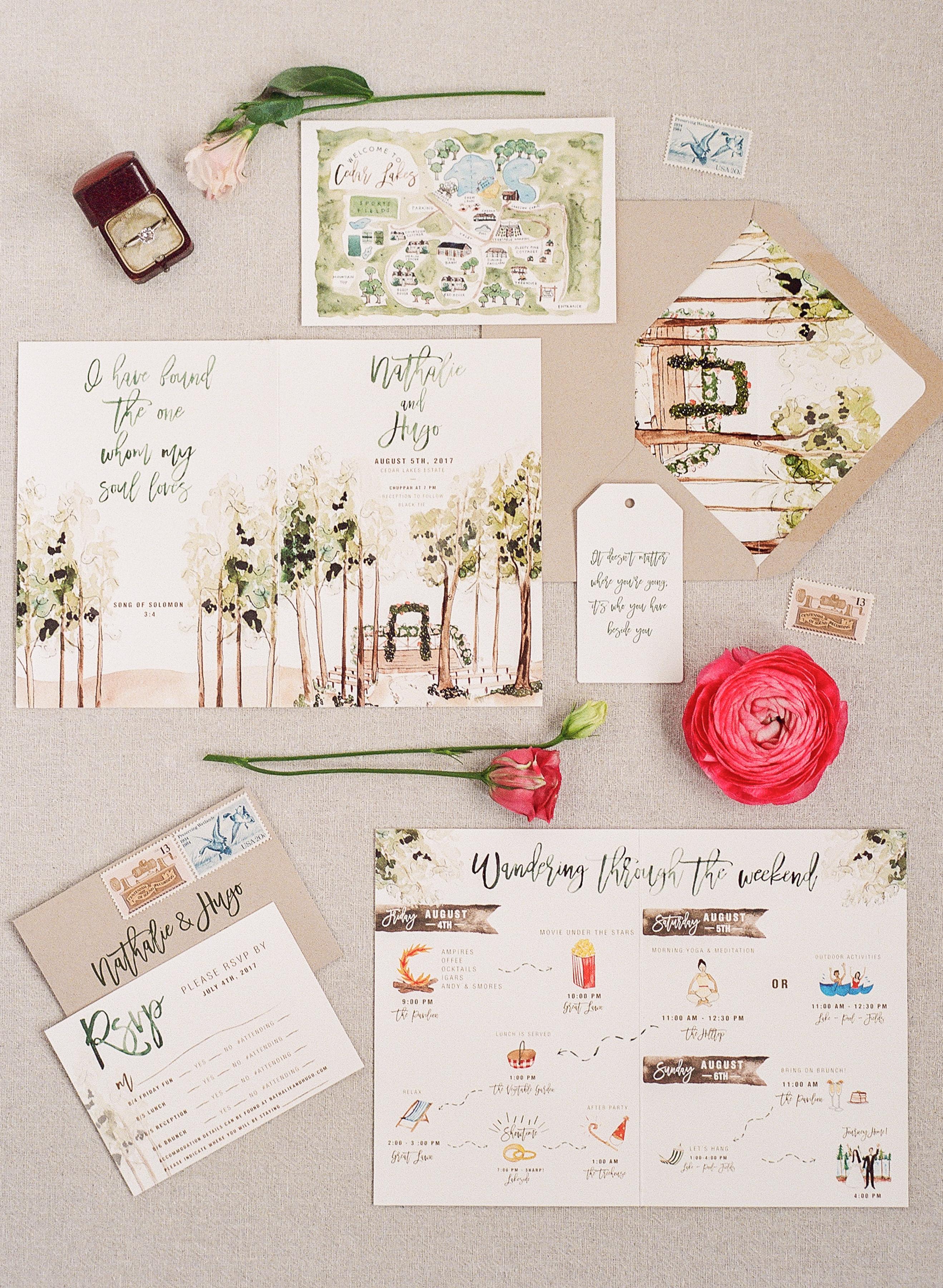 Unquie Wedding Invitations.29 Ideas For Unique Wedding Invitations Martha Stewart Weddings