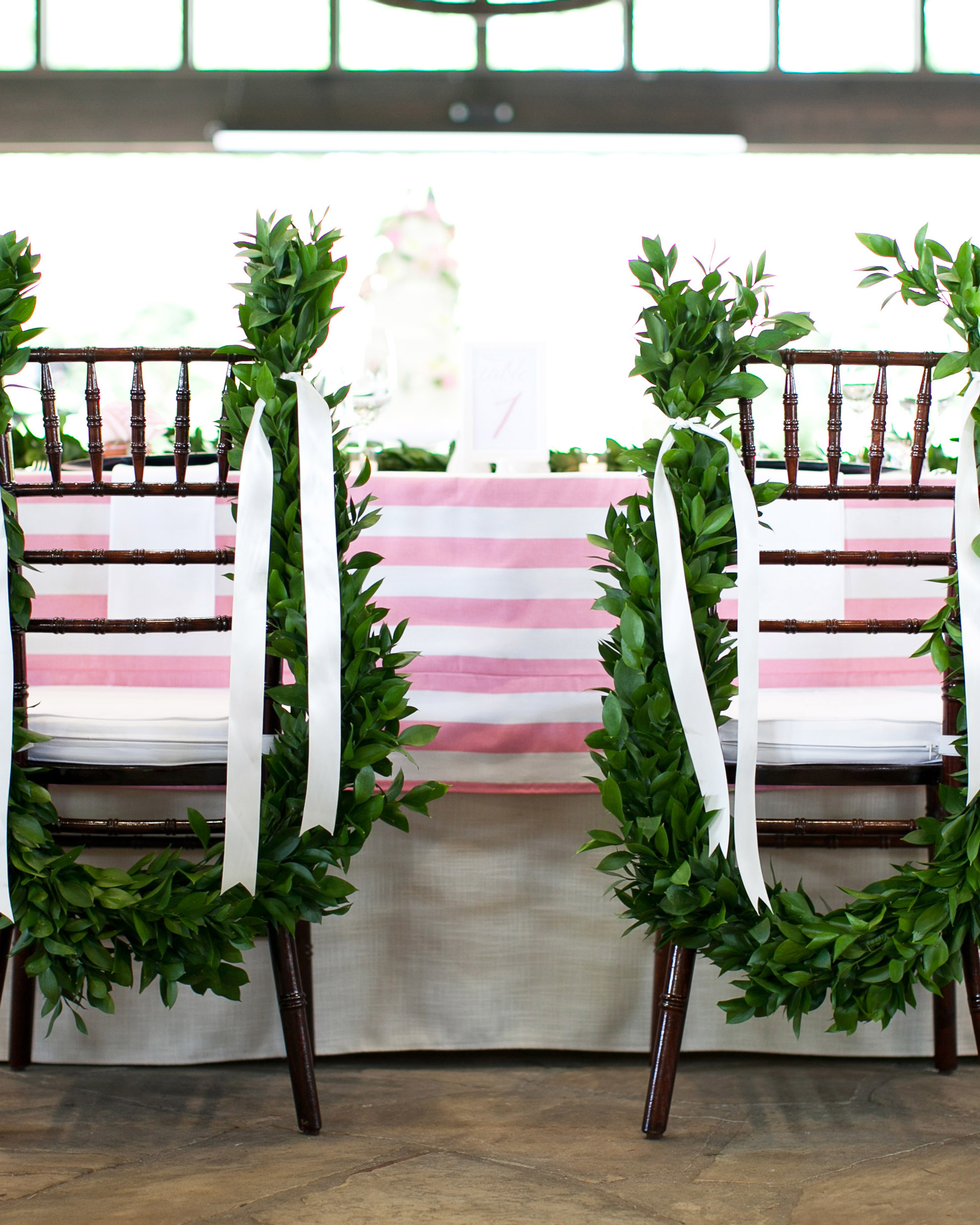 Leafy Chair Embellishments