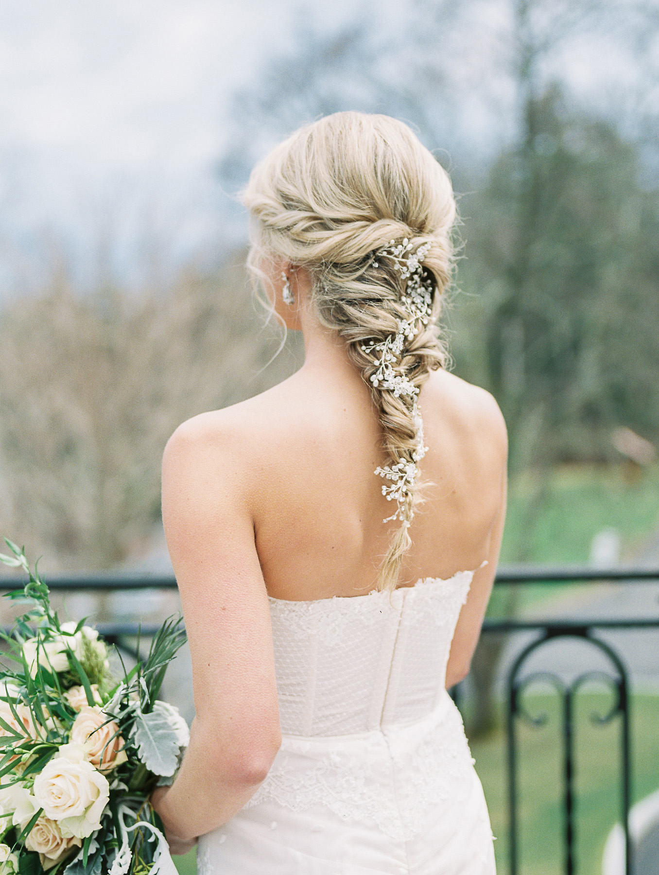 floral hairstyles michelle lange