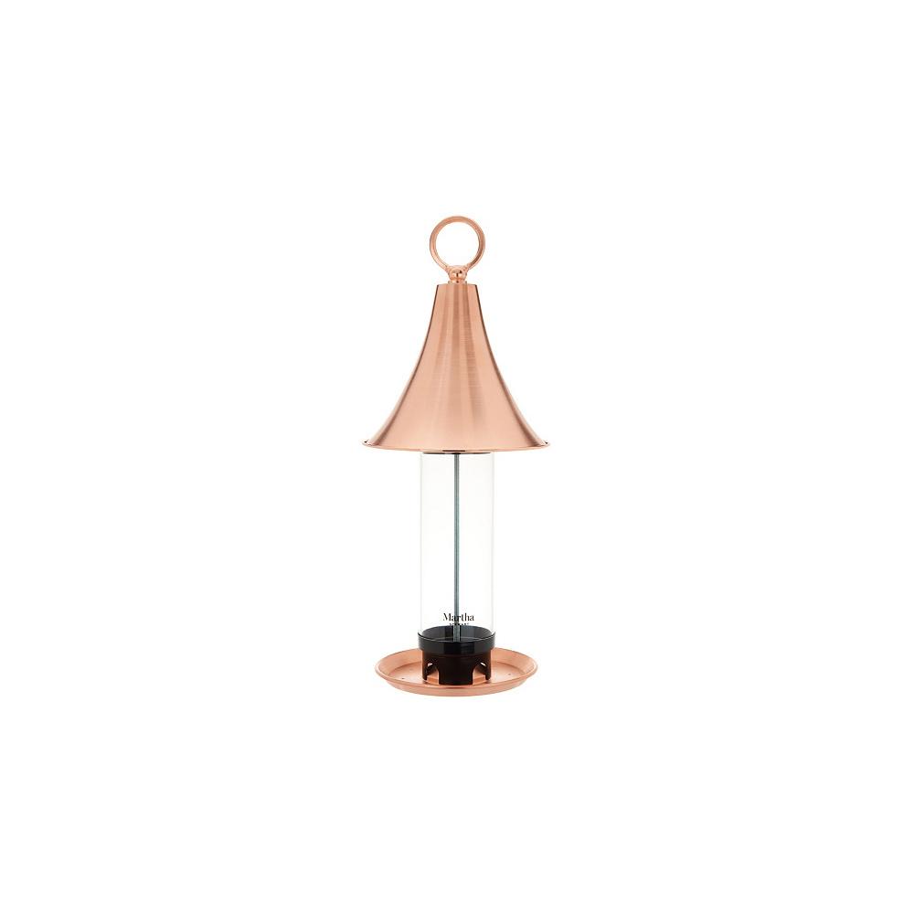Martha Stewart Copper Bird Feeder