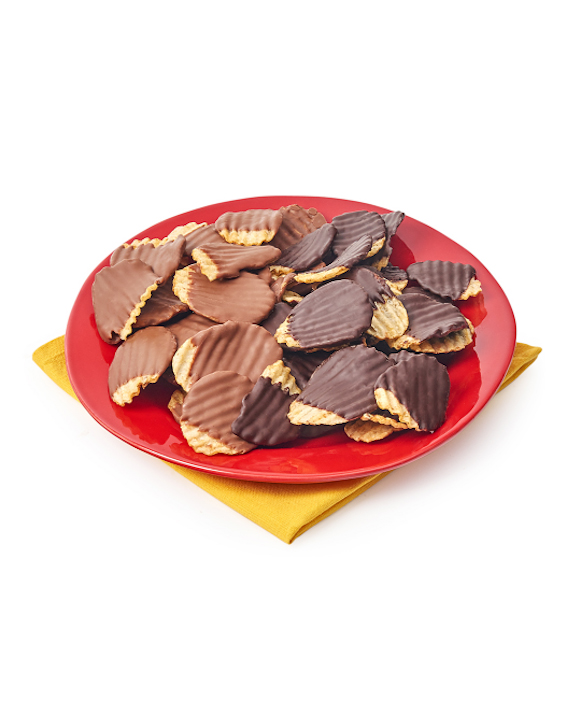 chocolate covered chips