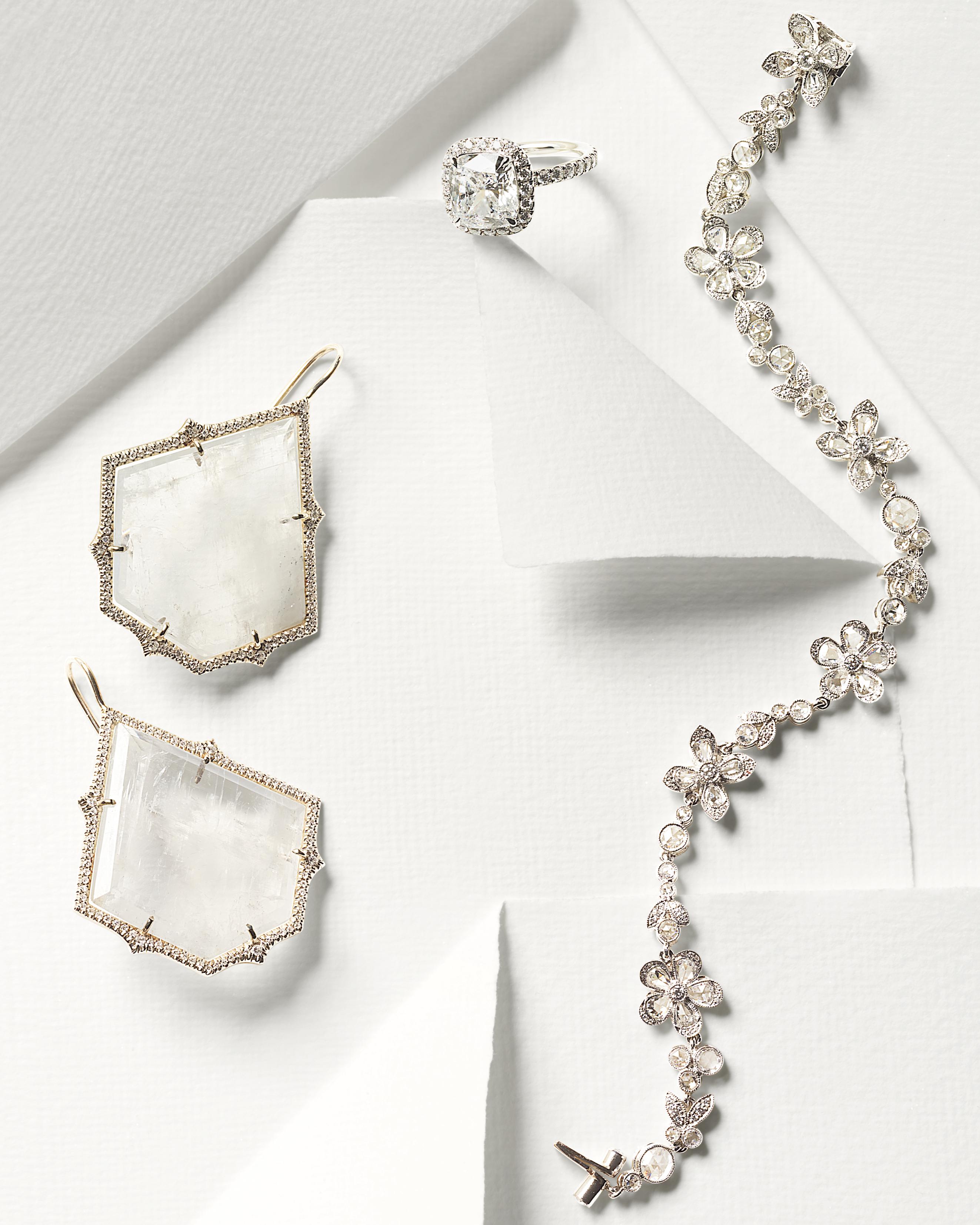 Sparkling Wedding Day Jewelry