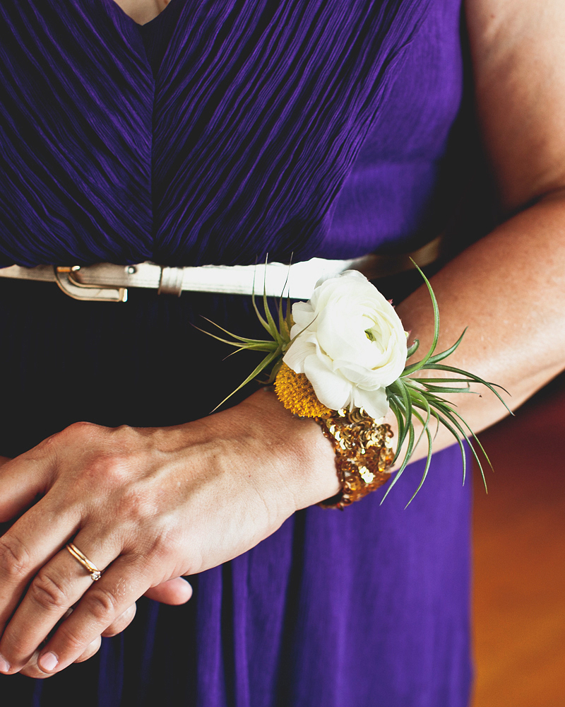 What type of flower is best for moms: a corsage, wristlet, or bouquet?