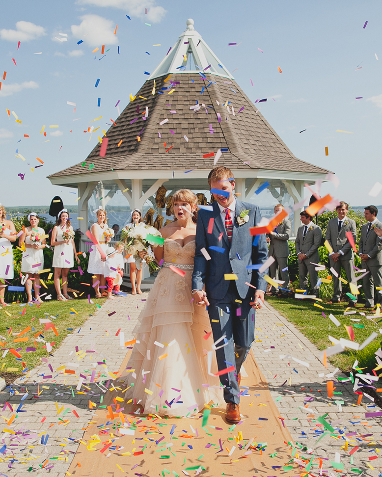 Confetti-Inspired Wedding Ideas That'll Make Your Day All About the Party
