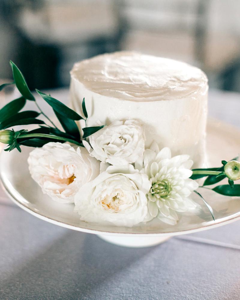 maggie zach wedding cake