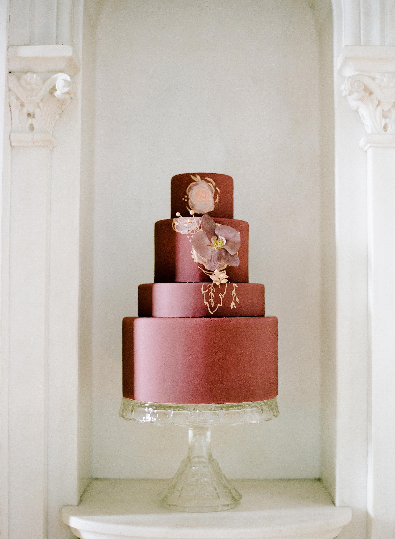 sugar flower wedding cakes rebecca yale red