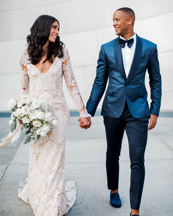Suits For Wedding.21 Grooms Who Wore Colorful Wedding Suits Martha Stewart Weddings