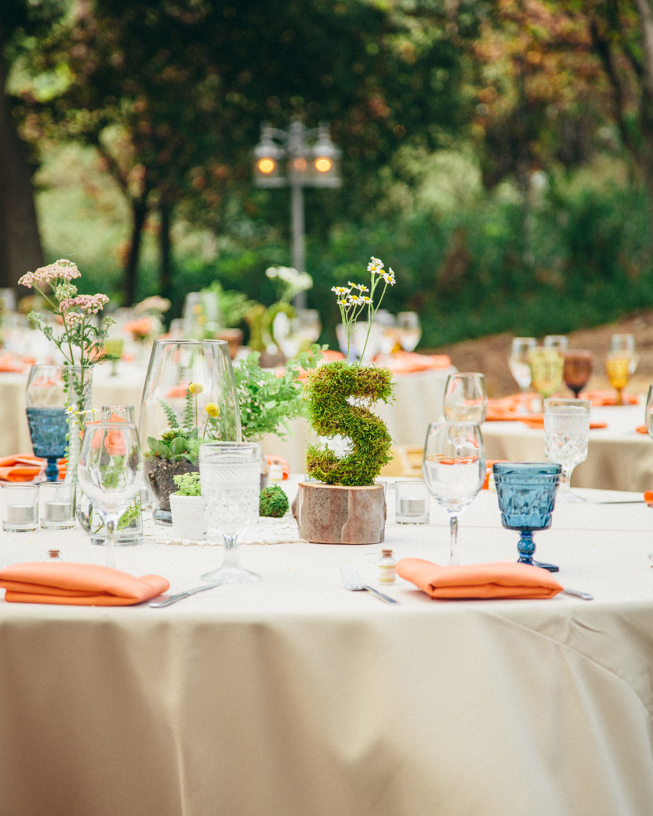 Earthy Centerpieces