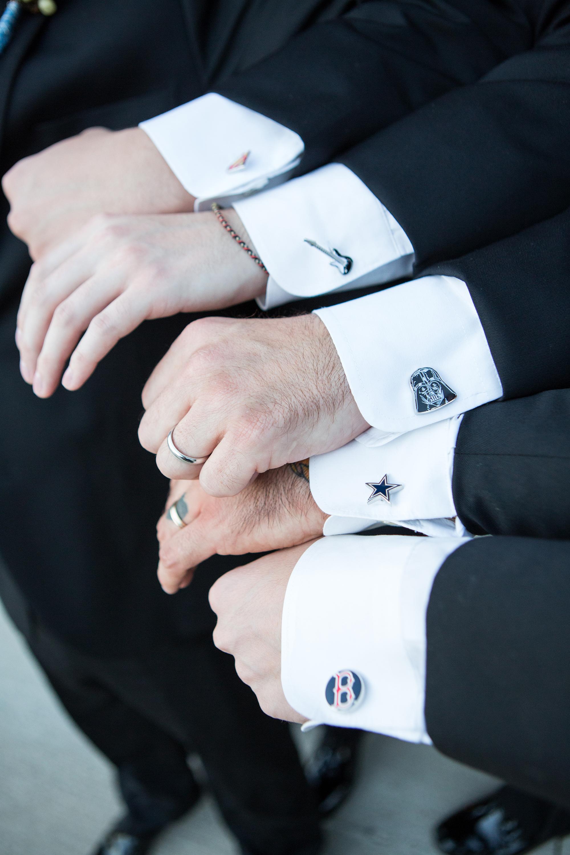 sports team cufflinks