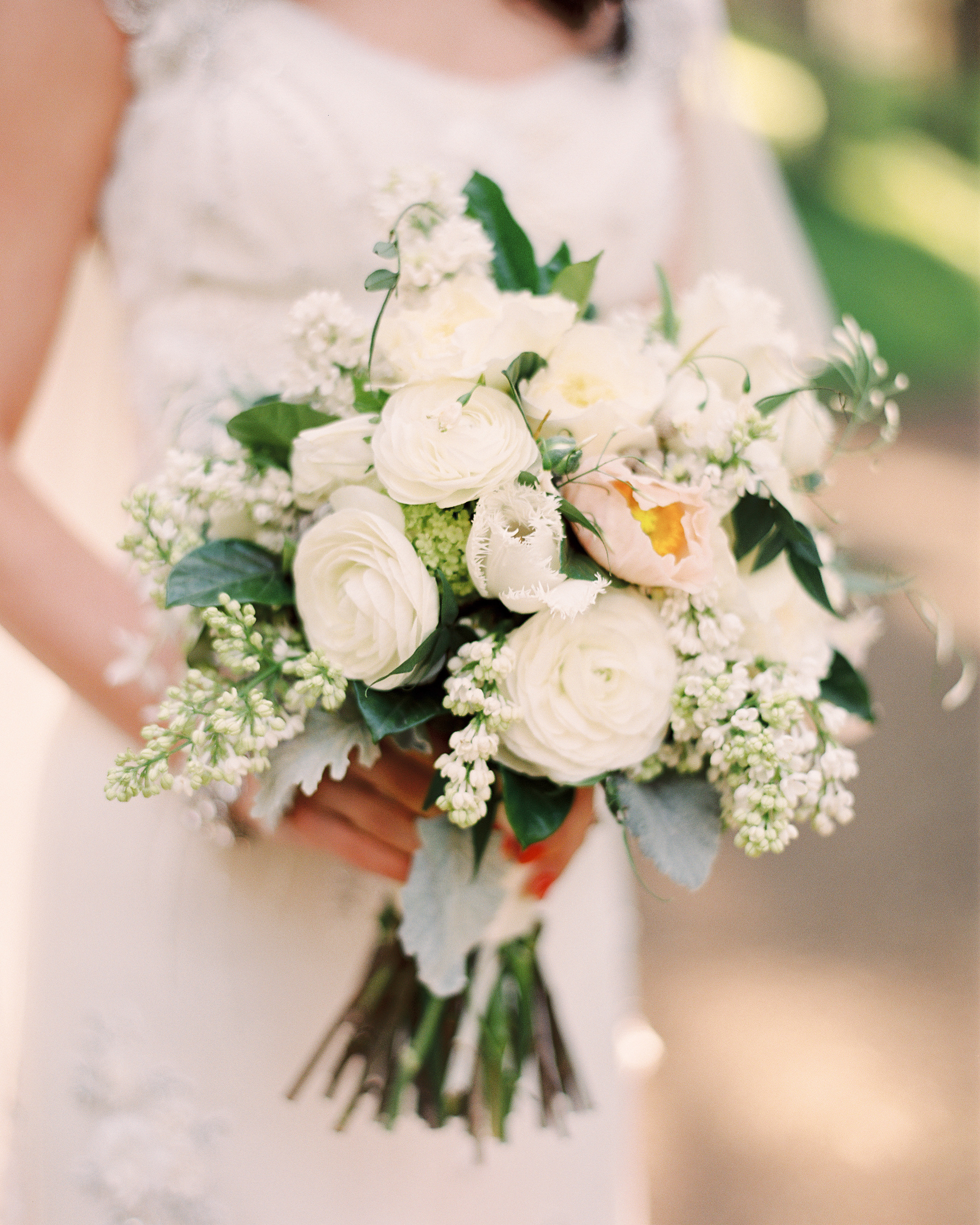Soft Bouquet with Sentiment