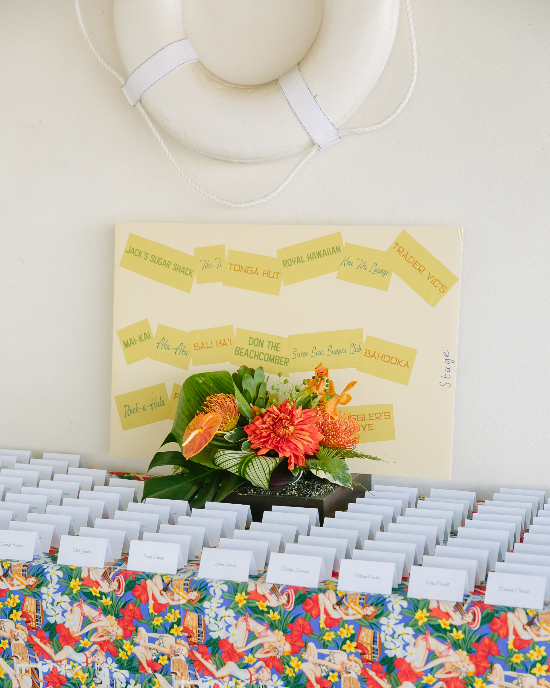 A Colorful Tiki-Inspired Wedding Weekend In Palm Springs