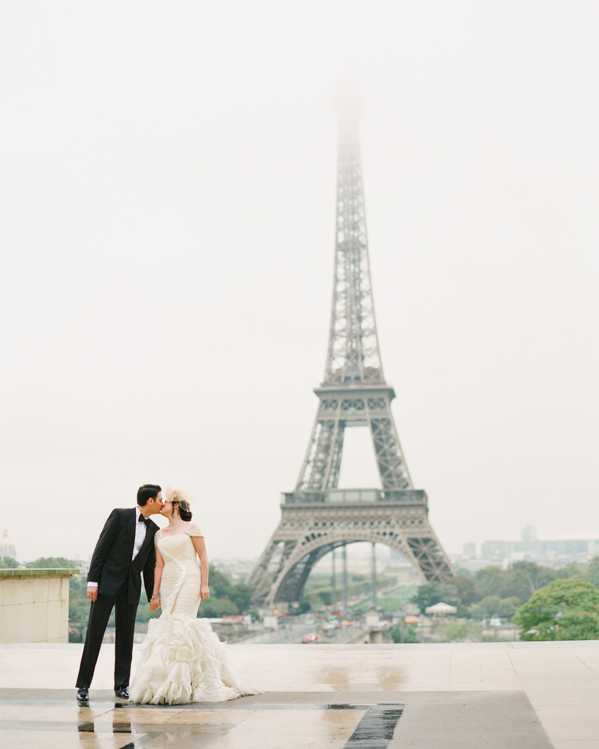 A French-Themed Destination Wedding in Paris