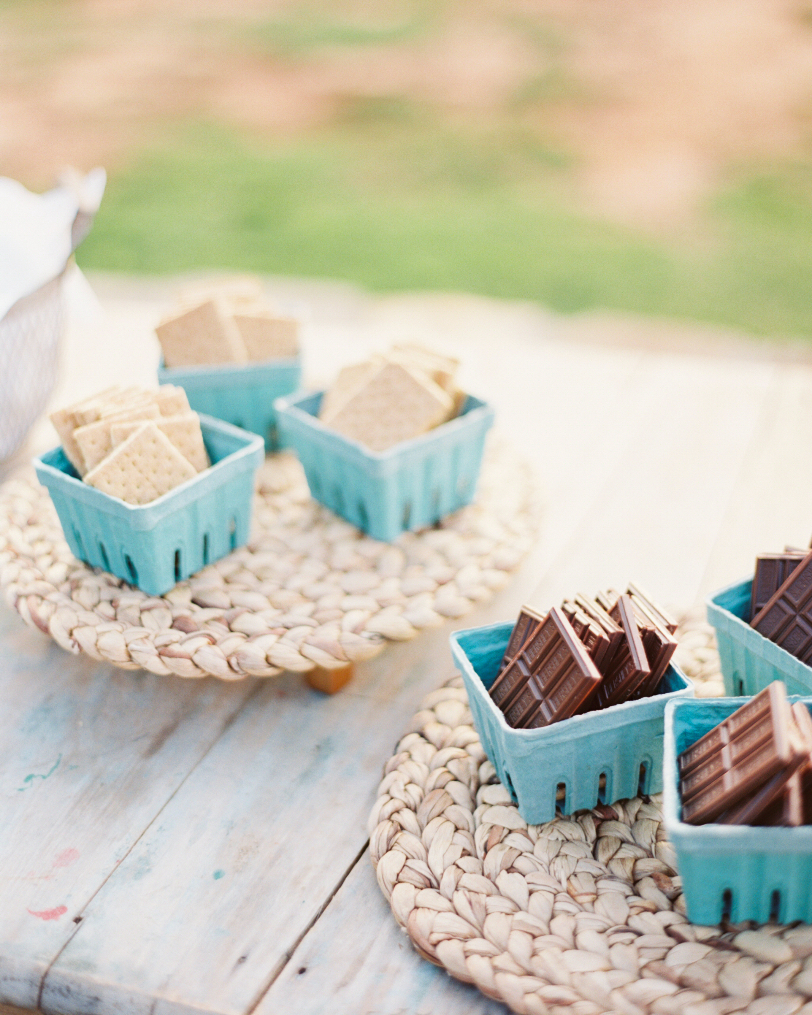 S'mores in Baskets