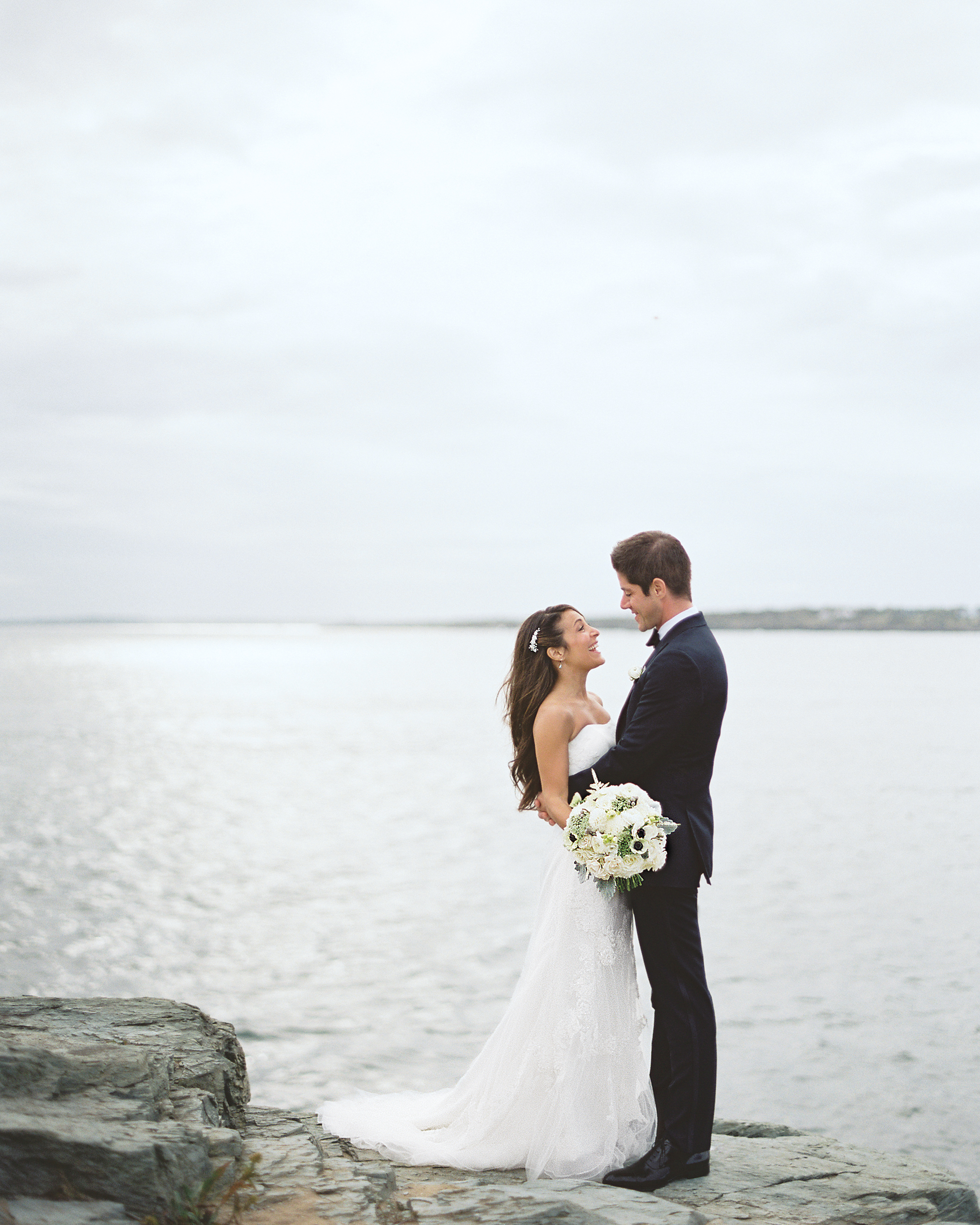 A Classic and Stylish Nautical Wedding in Newport, Rhode Island