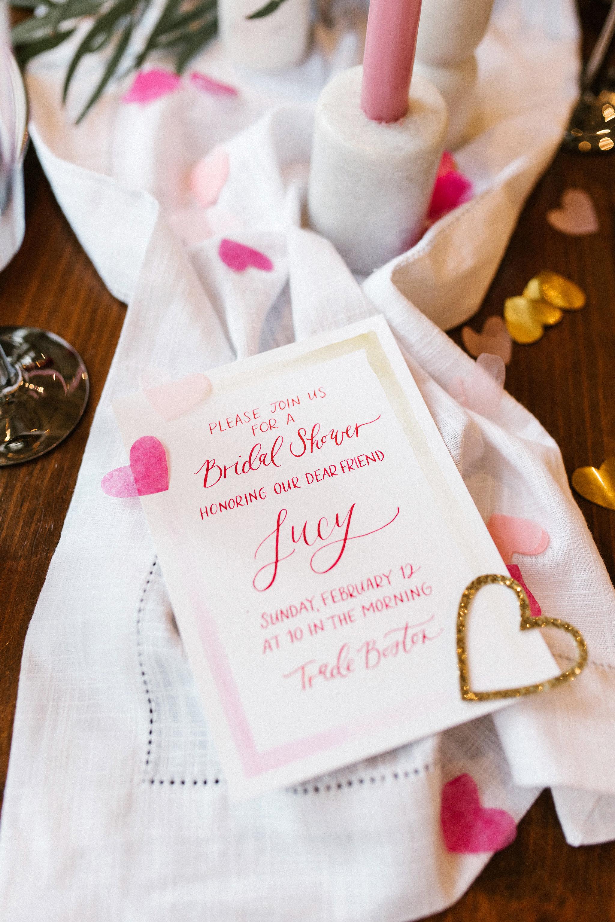 bridal shower invitations lindsay hackney
