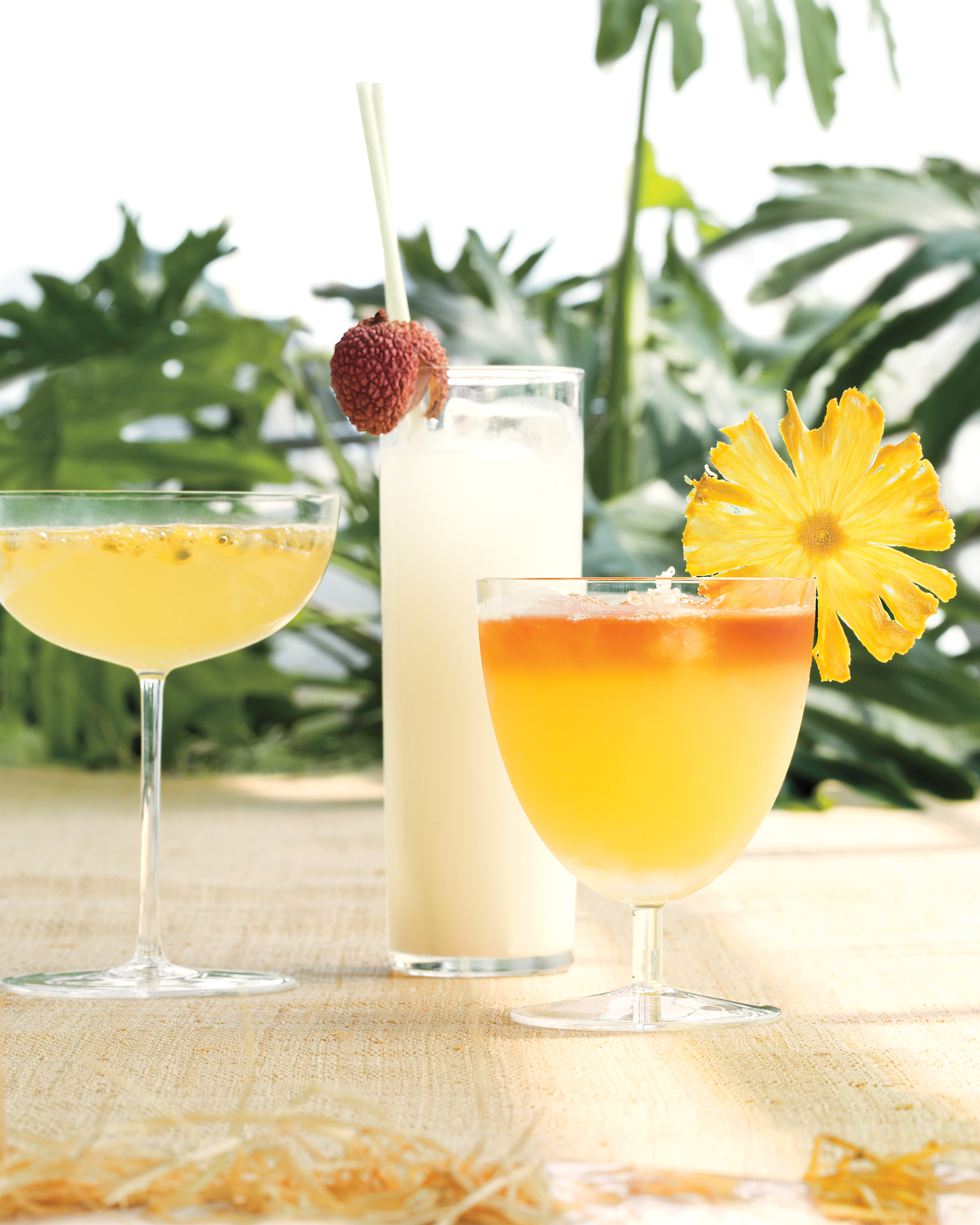 Pineapple Coconut Mai Tai