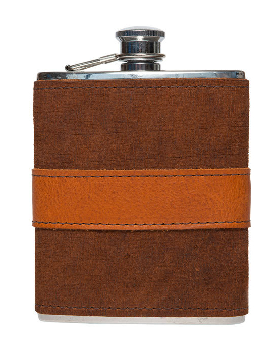 groomsmen gift guide moore and guiles leather wrapper flask
