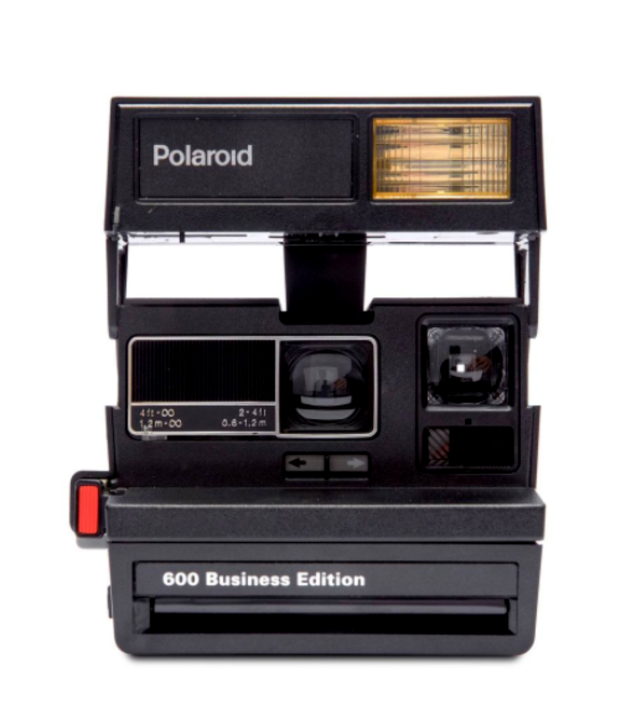 black polaroid camera