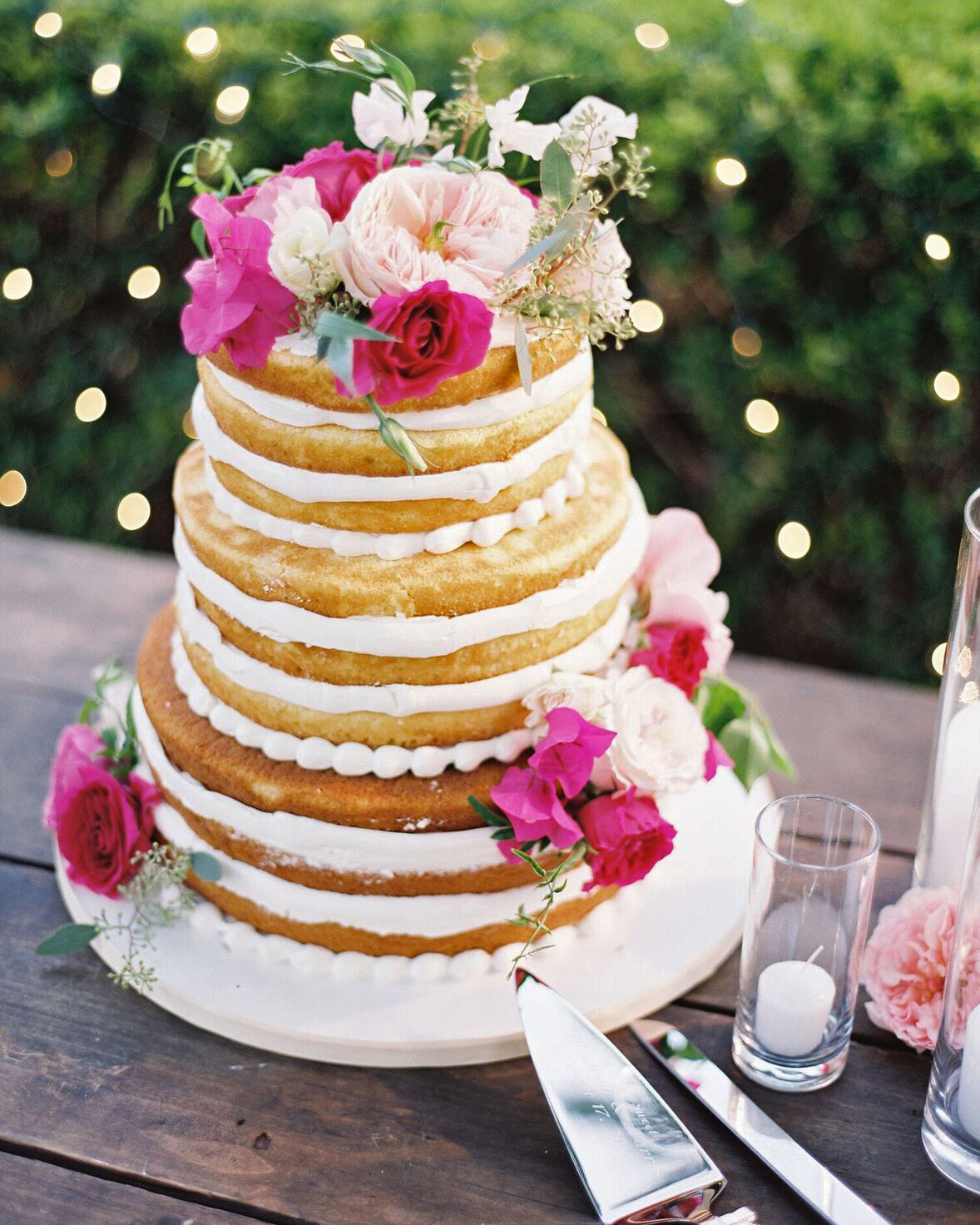Naked Wedding Cake: The Good, The Bad & The Ugly