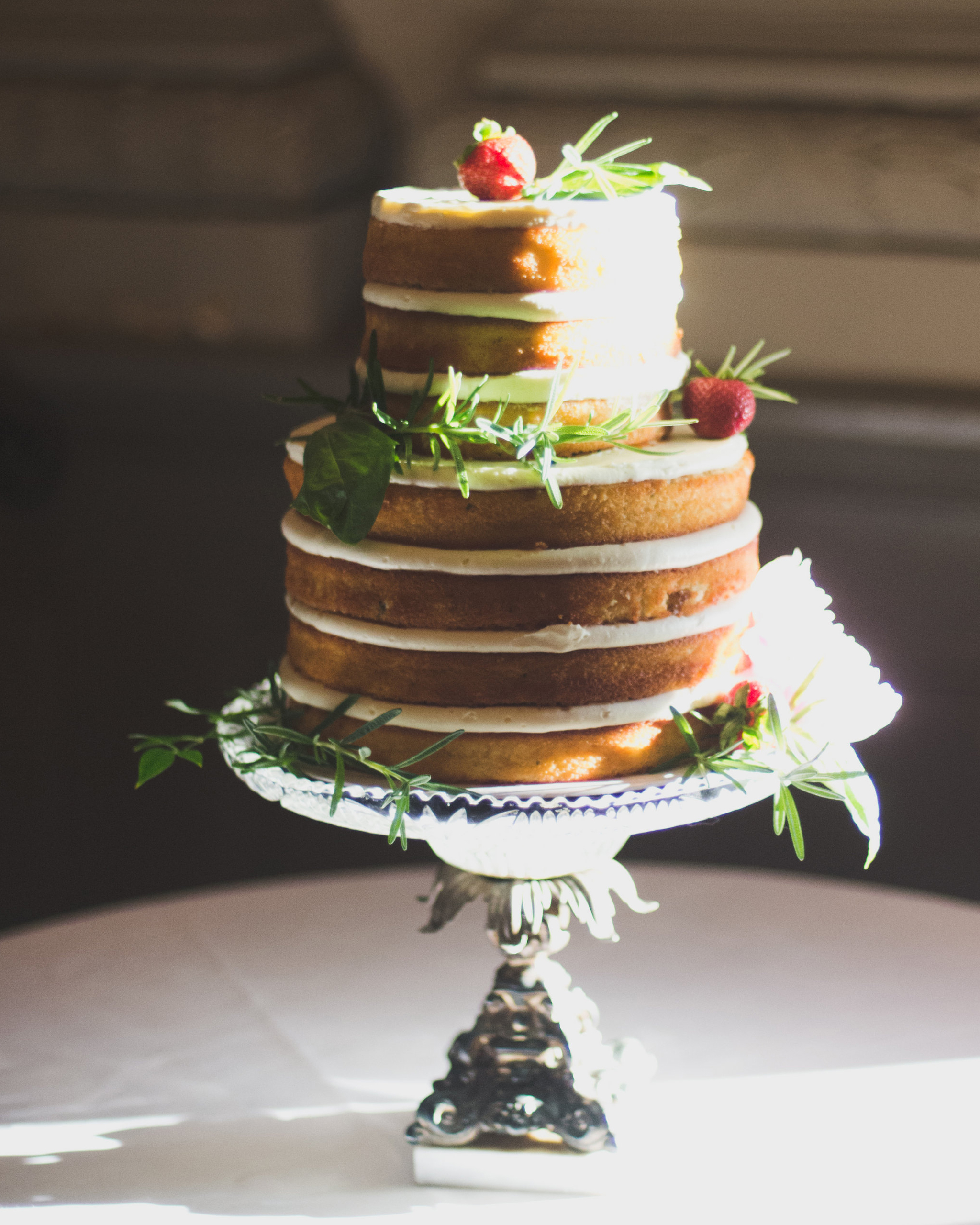Fun Wedding Cake Ideas: Beautiful Naked Wedding Cake Ideas