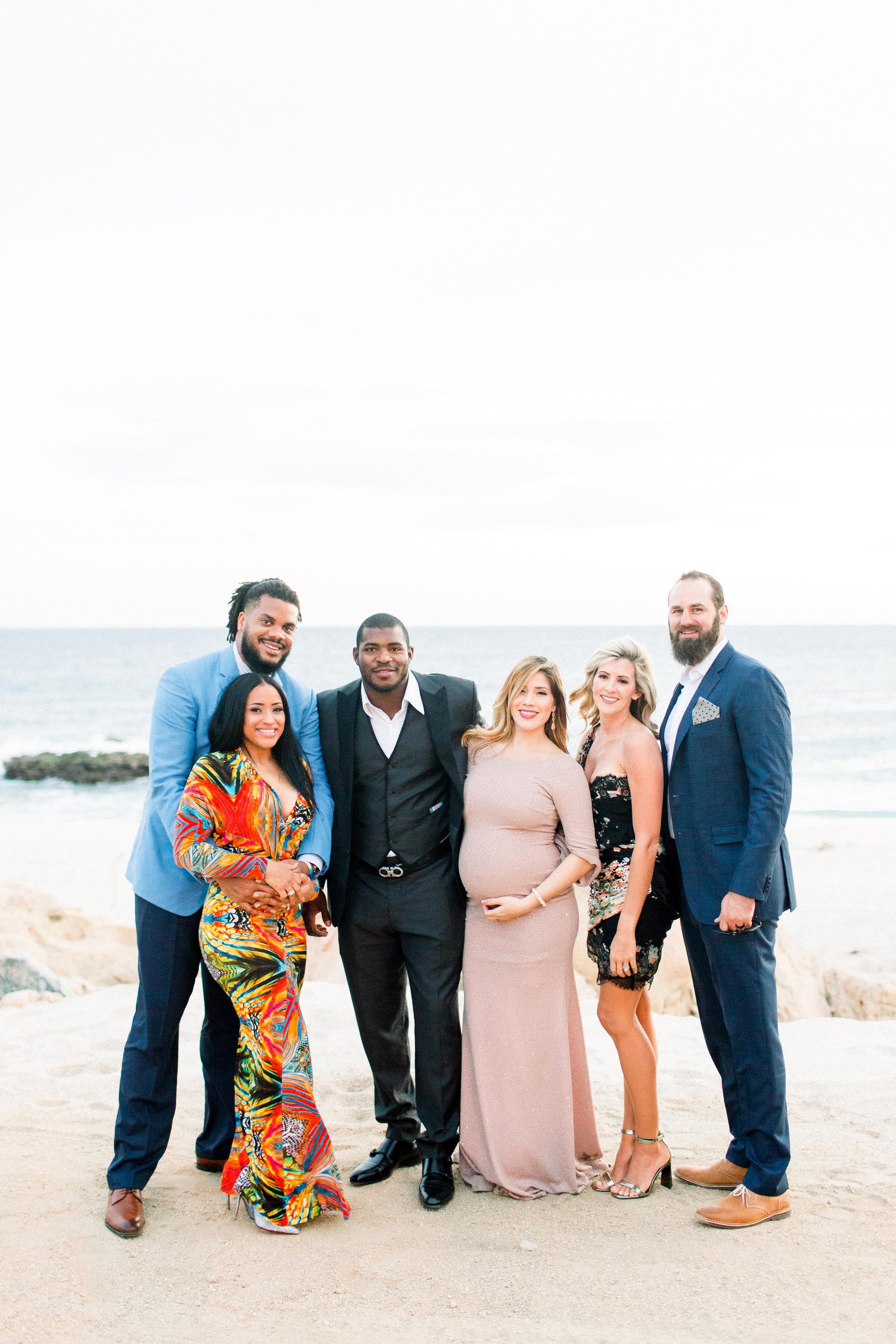 kourtney justin wedding mexico guests